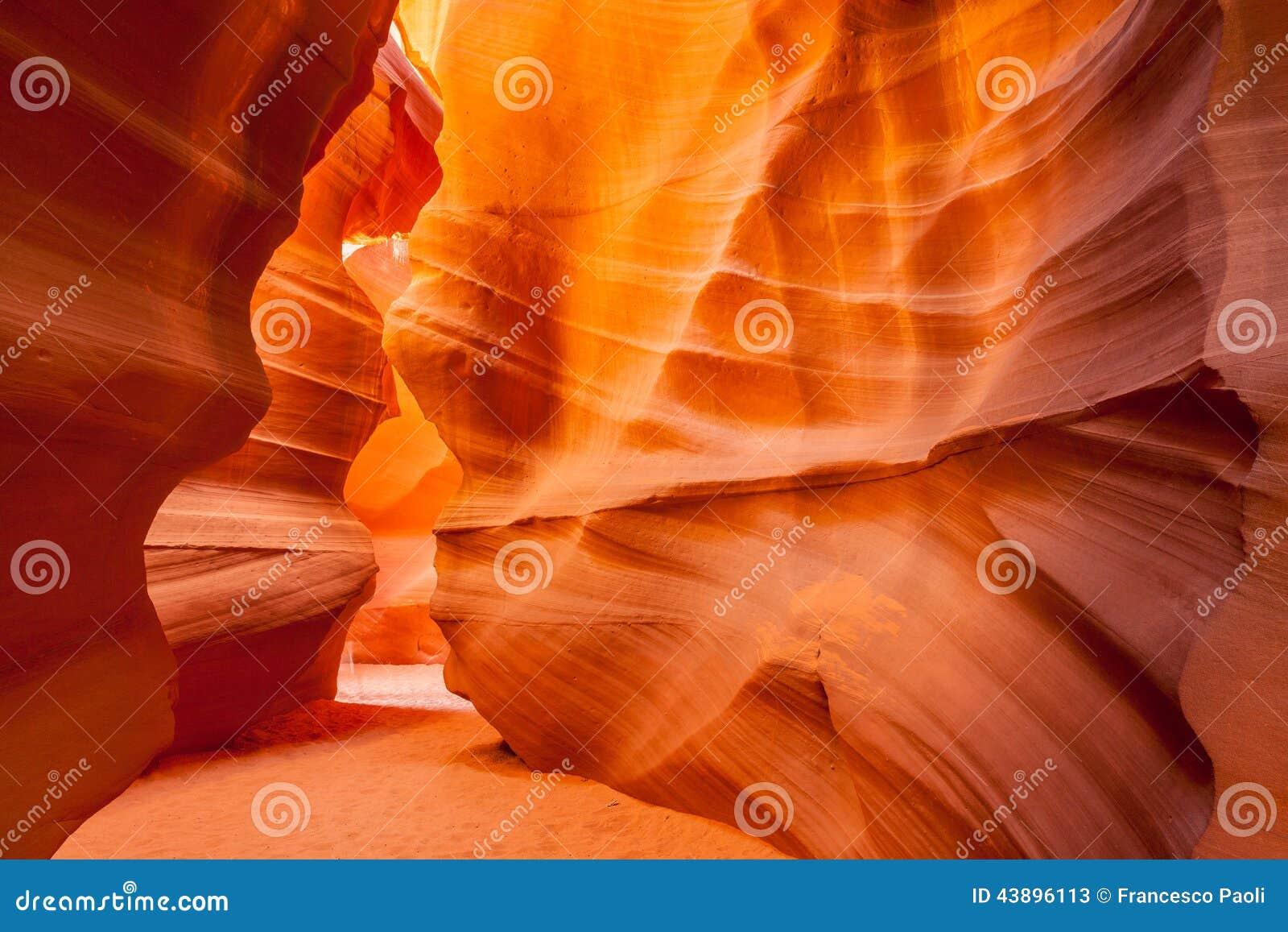 Upper Antelope Canyon Page Utah Stock Photo Image