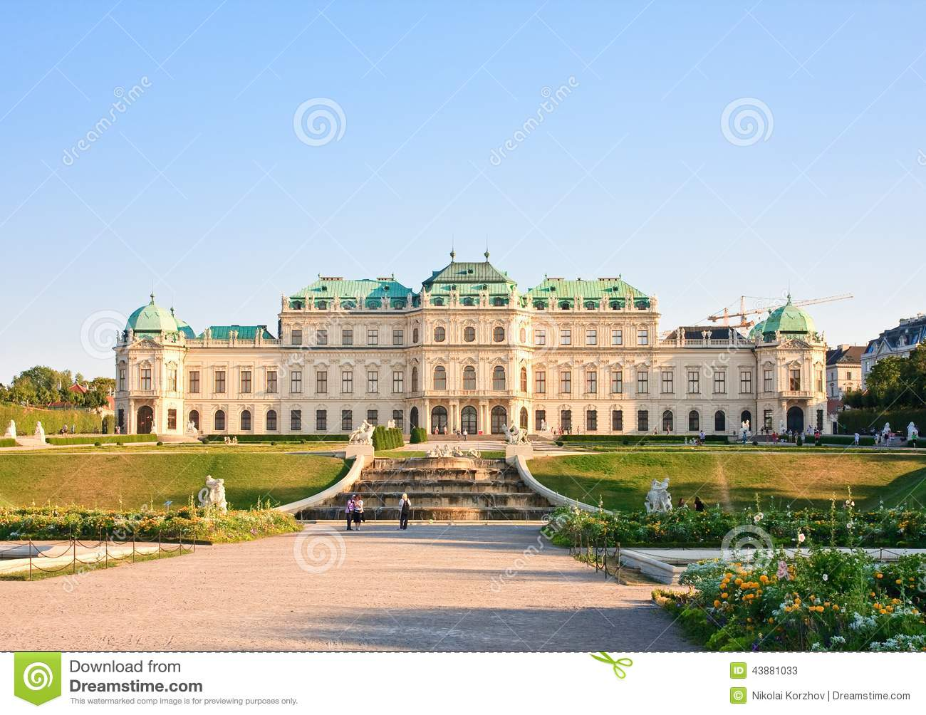 how to get to belvedere palace