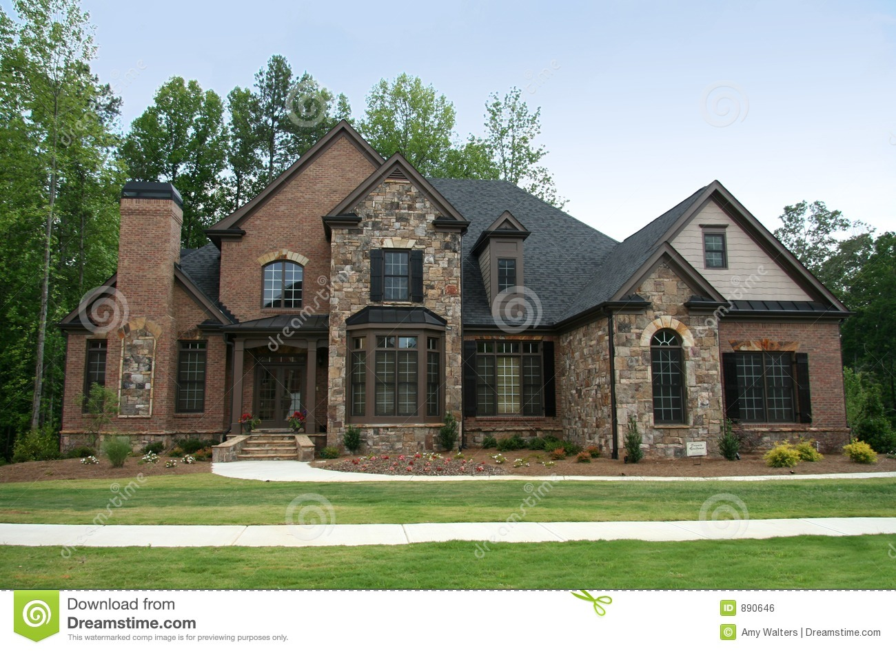 Upper Class Luxury Home Stock Photo Image Of Homeowner