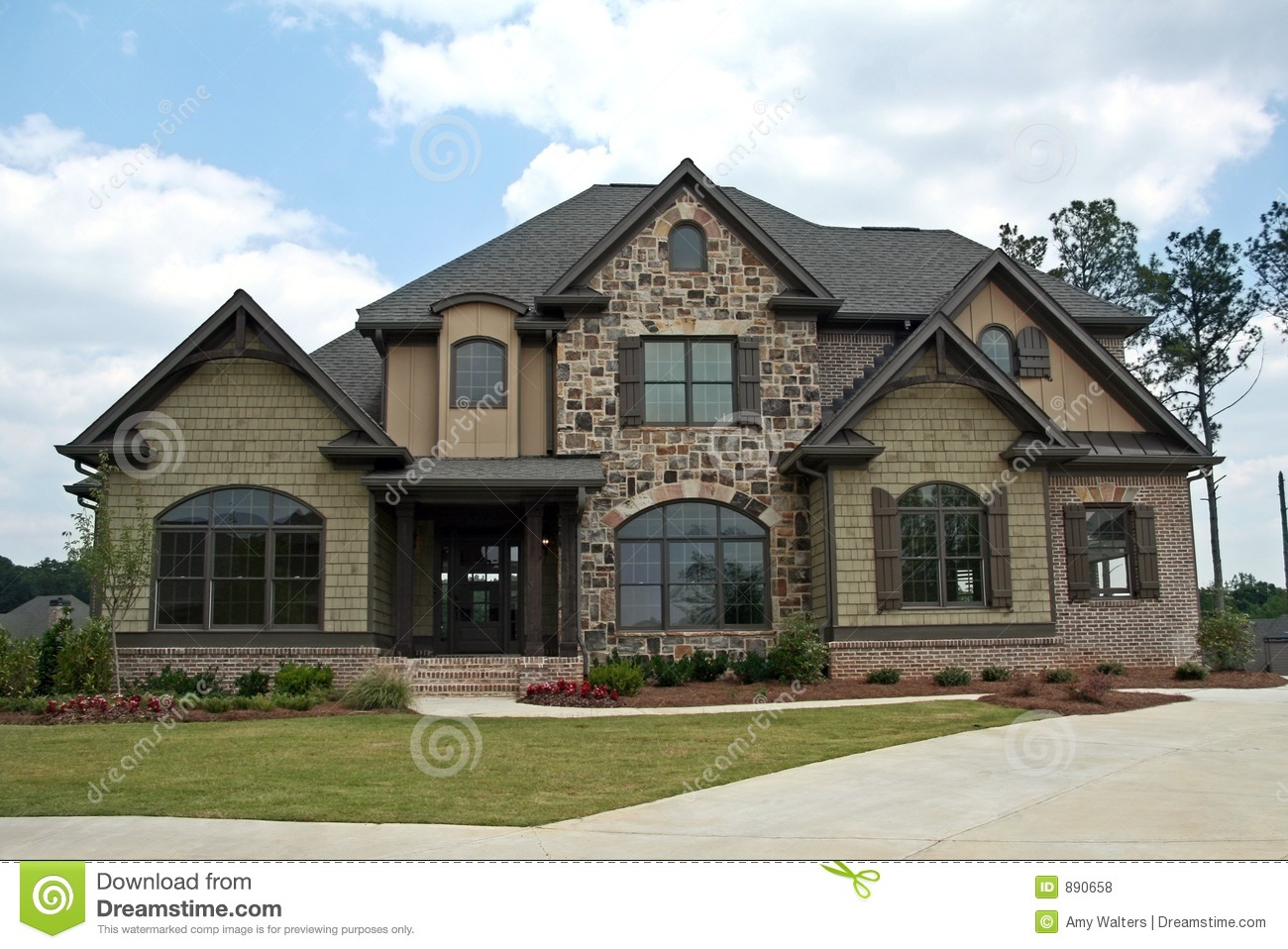 Upper class luxury home royalty free stock photos image for Free luxury home images
