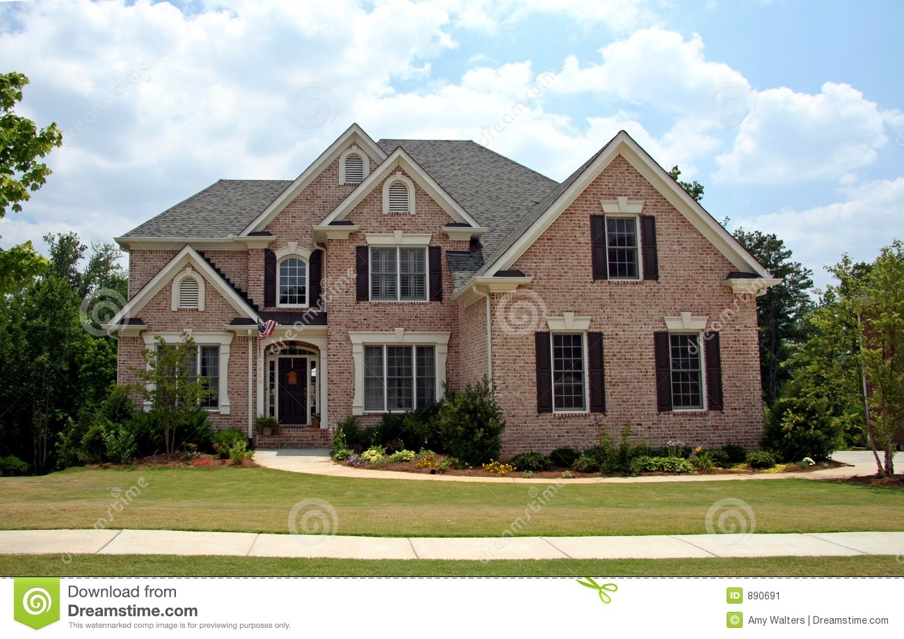 Upper Class Luxury Home Stock Image Image Of Family