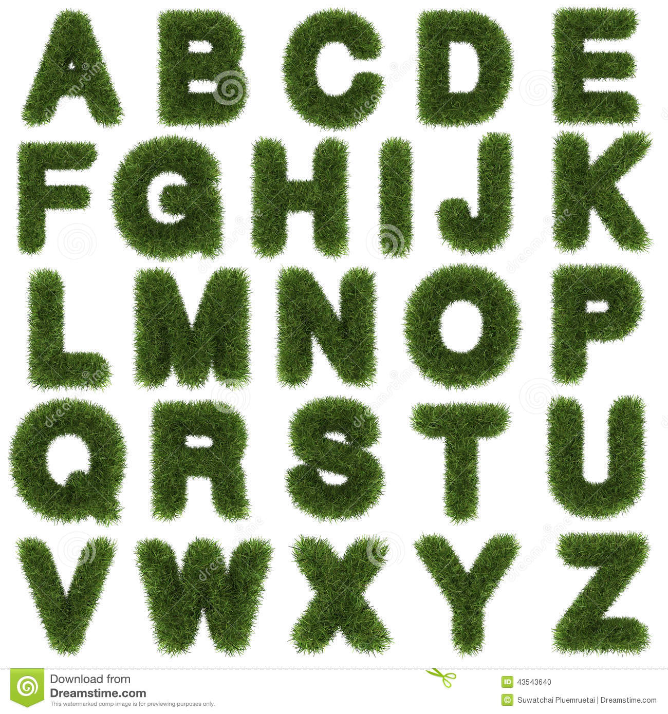 Alphabet Letters Using Nature