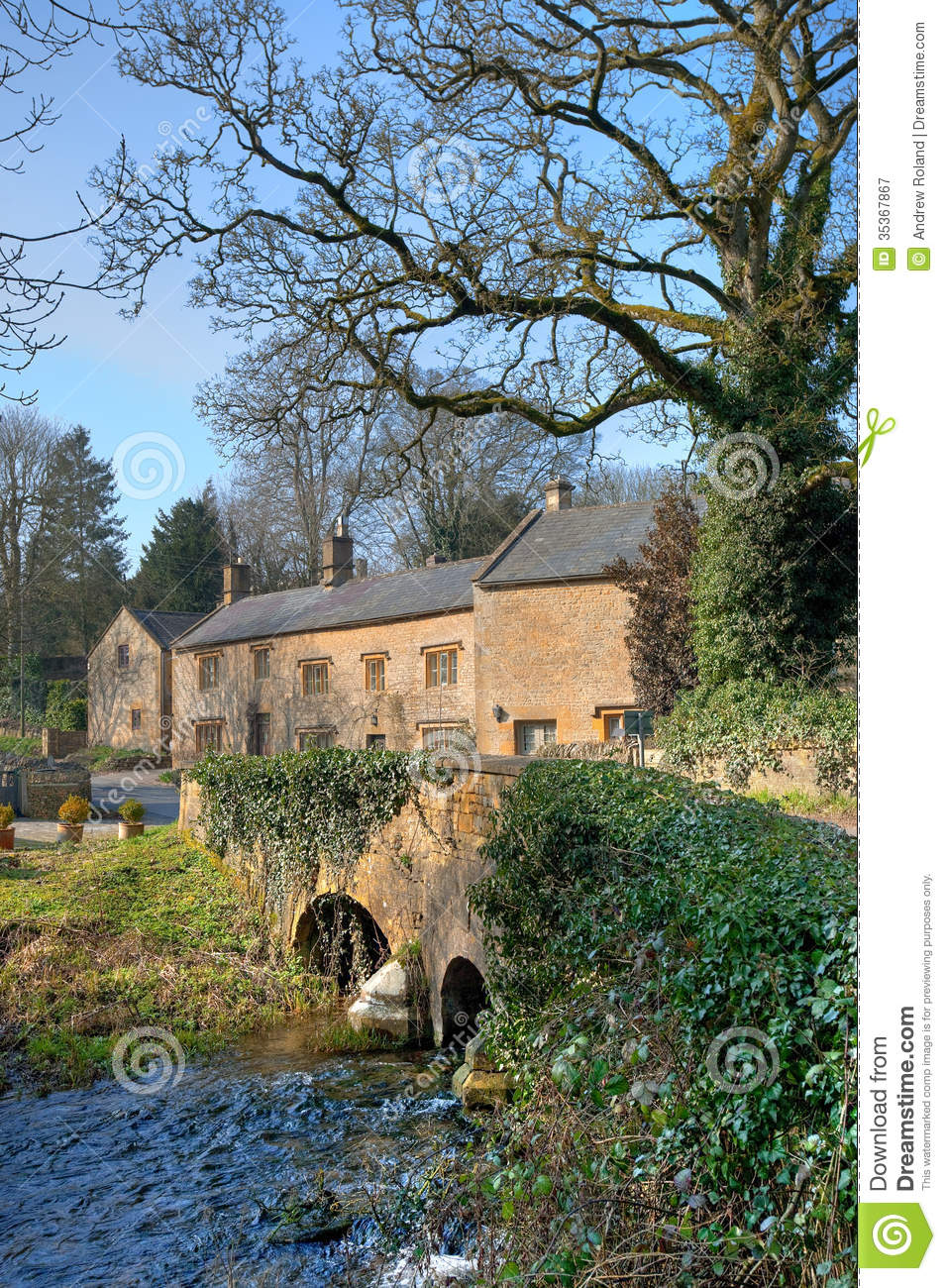 Upper Swell Cotswolds Stock Image Image Of Destination