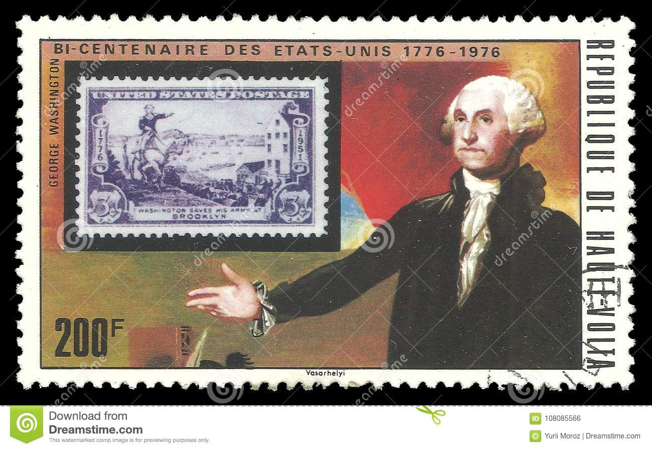 US Stamp And George Washington Editorial Photo - Image of ...