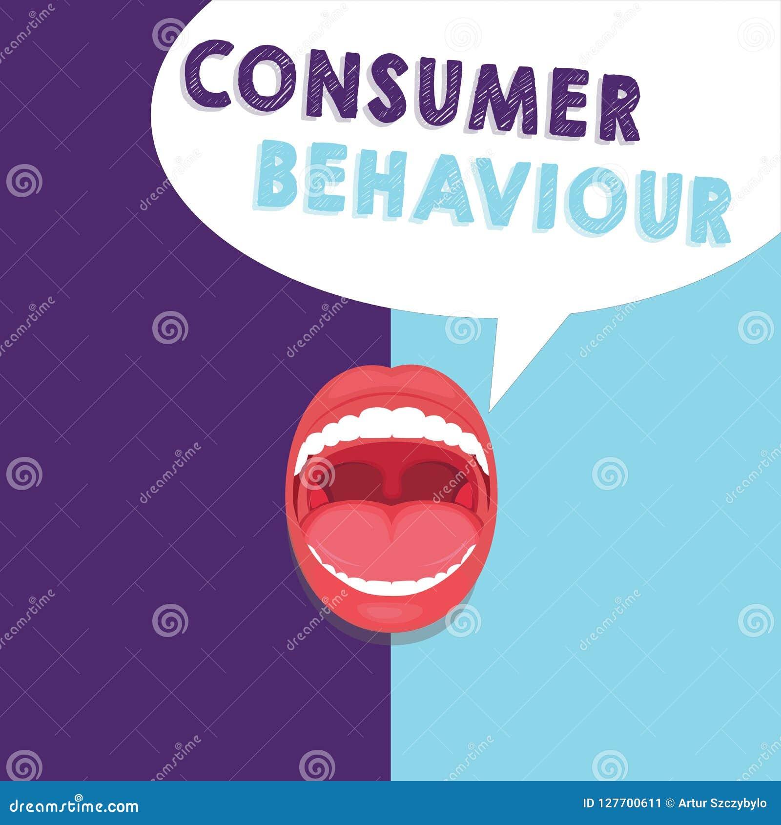 Uppförande för konsument för handskrifttexthandstil Menande beslut för begrepp som folket gör för att köpa eller för att inte köp