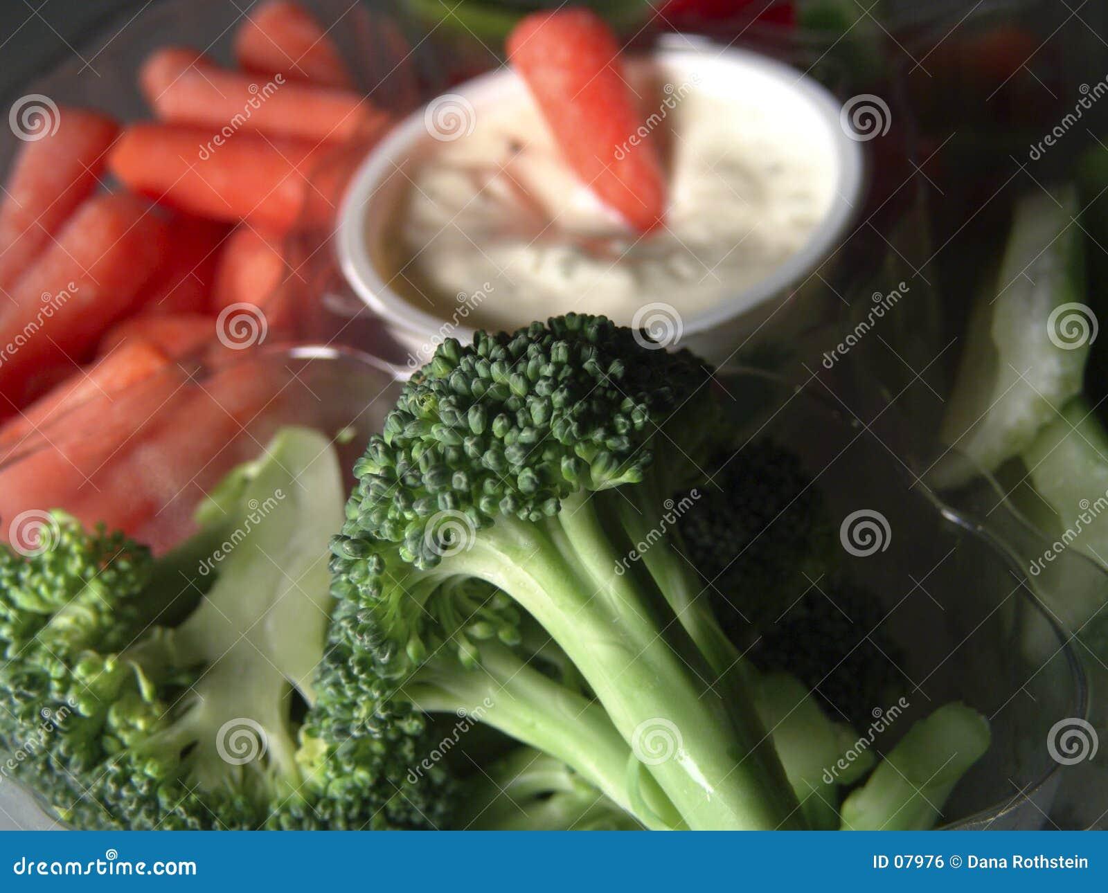 Uppläggningsfatgrönsak