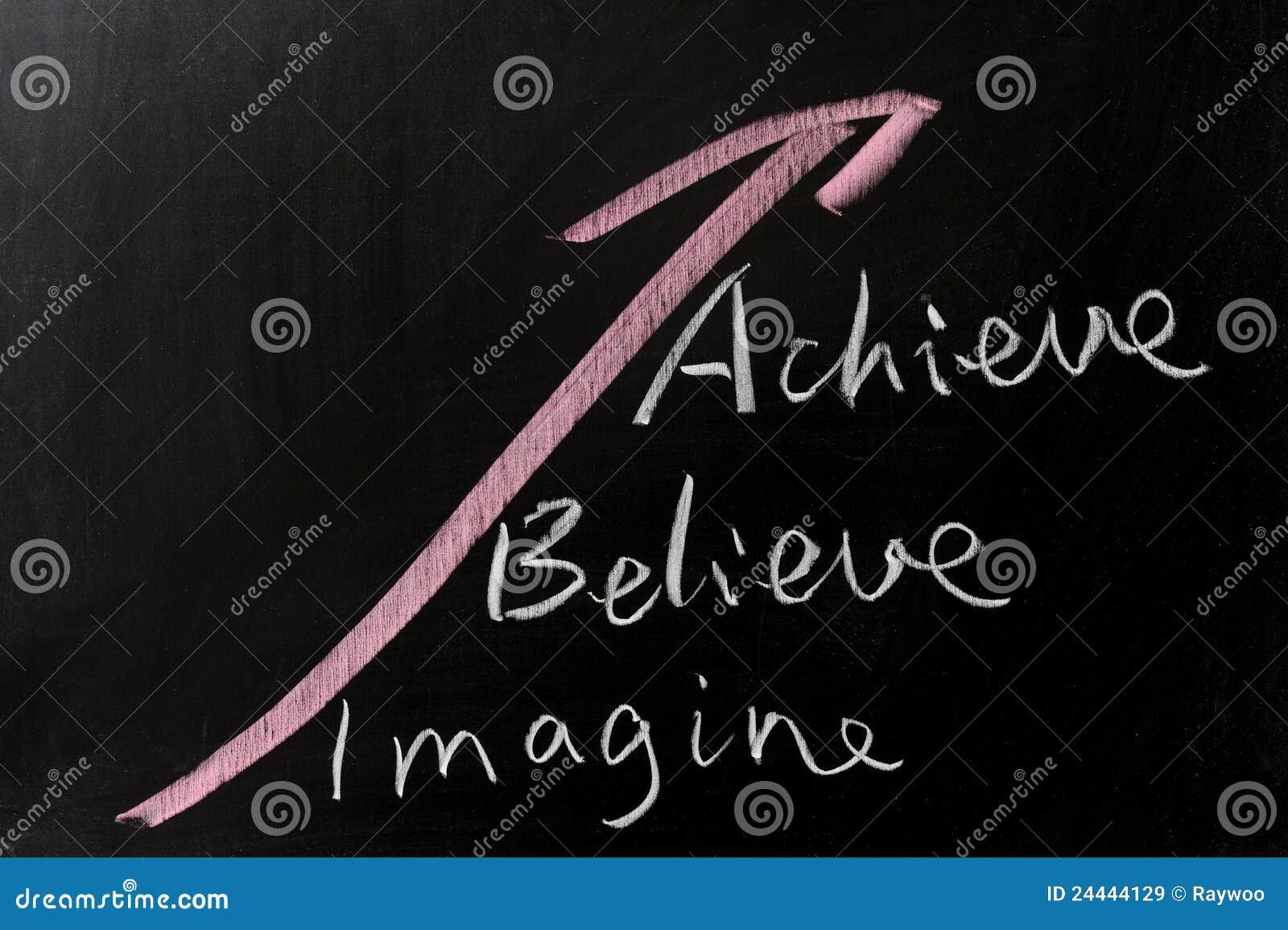 Uppnå tro föreställer