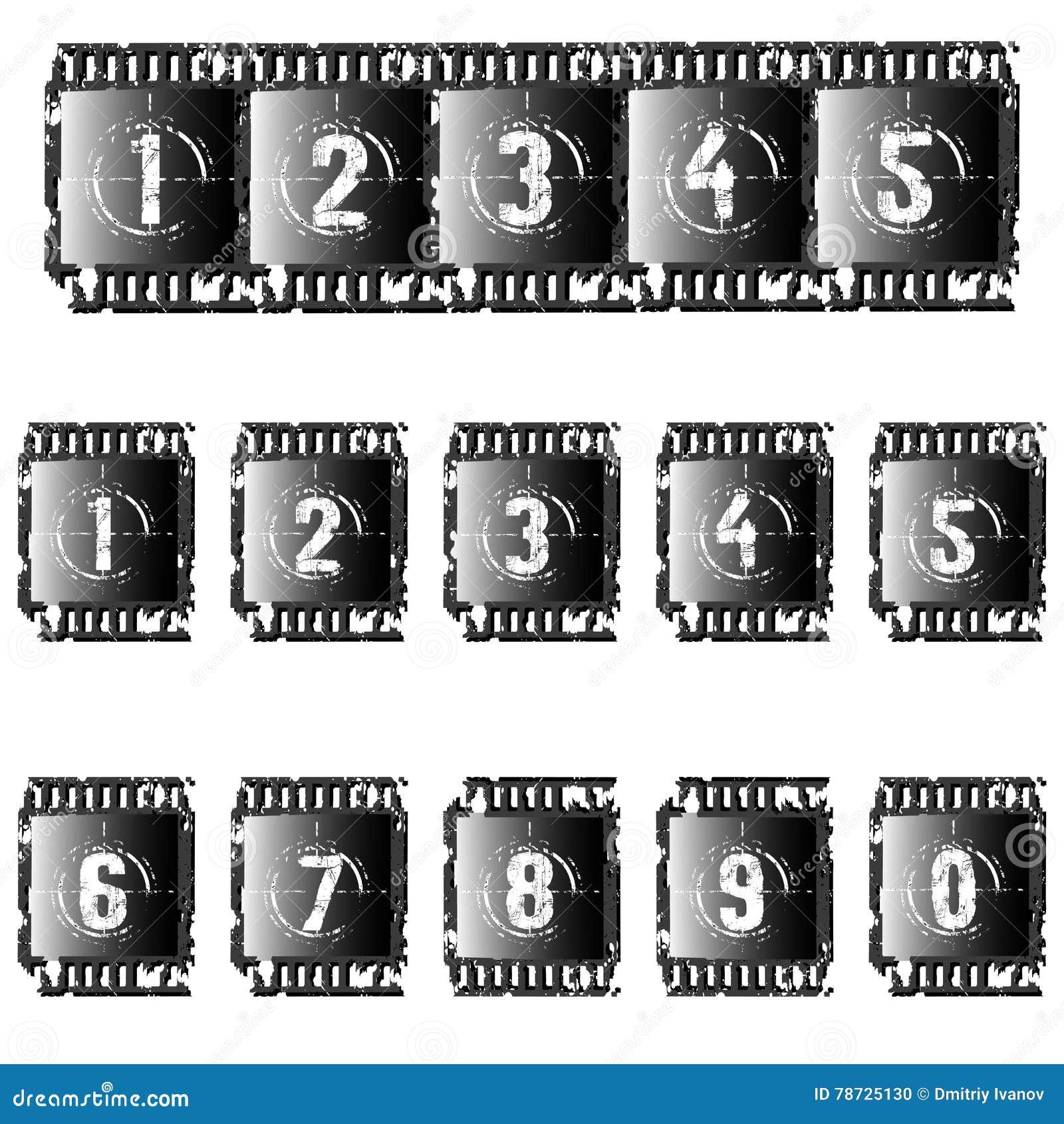 Uppsättning av fotografiska filmer
