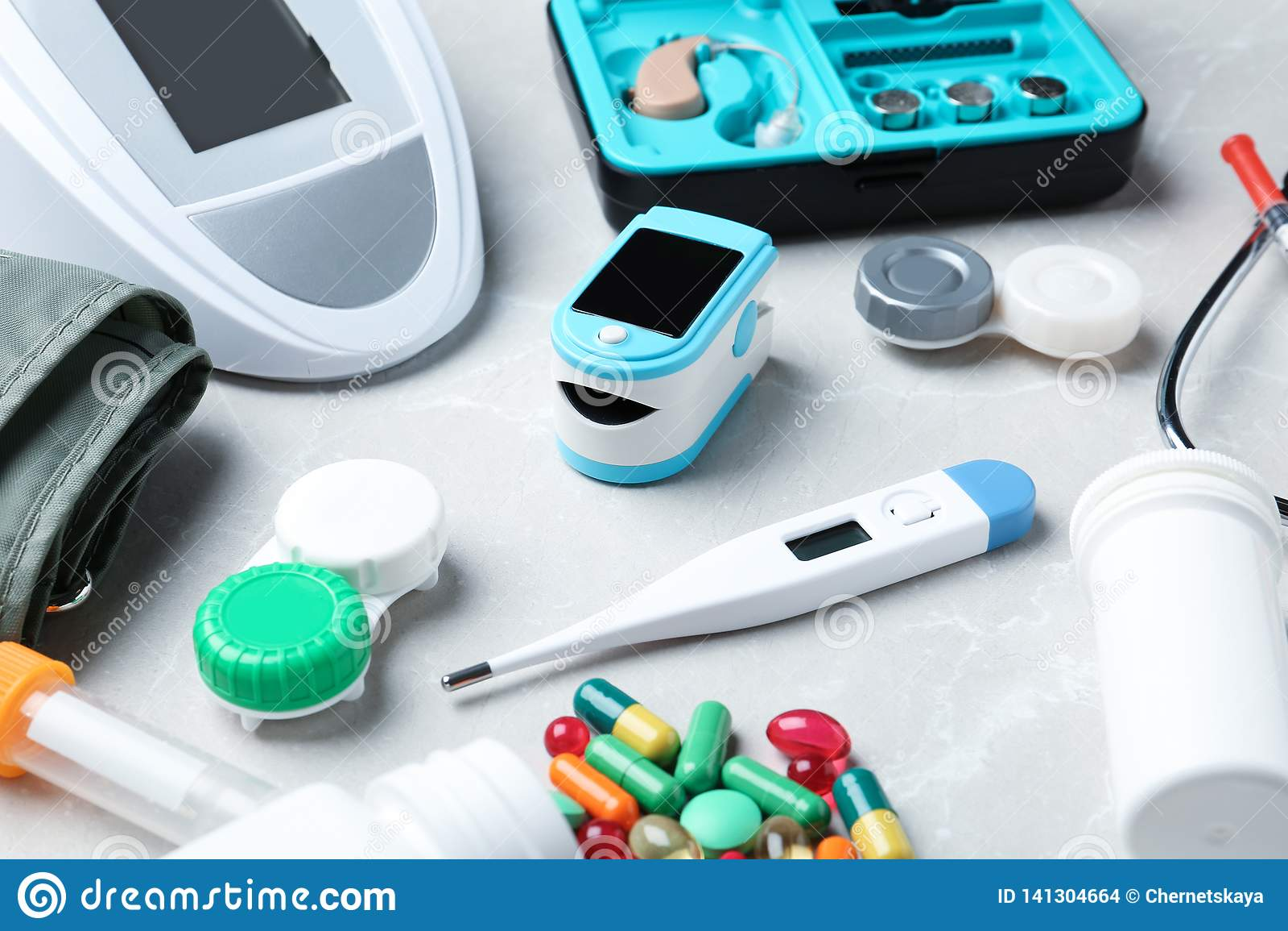 Uppsättning av medicinska objekt