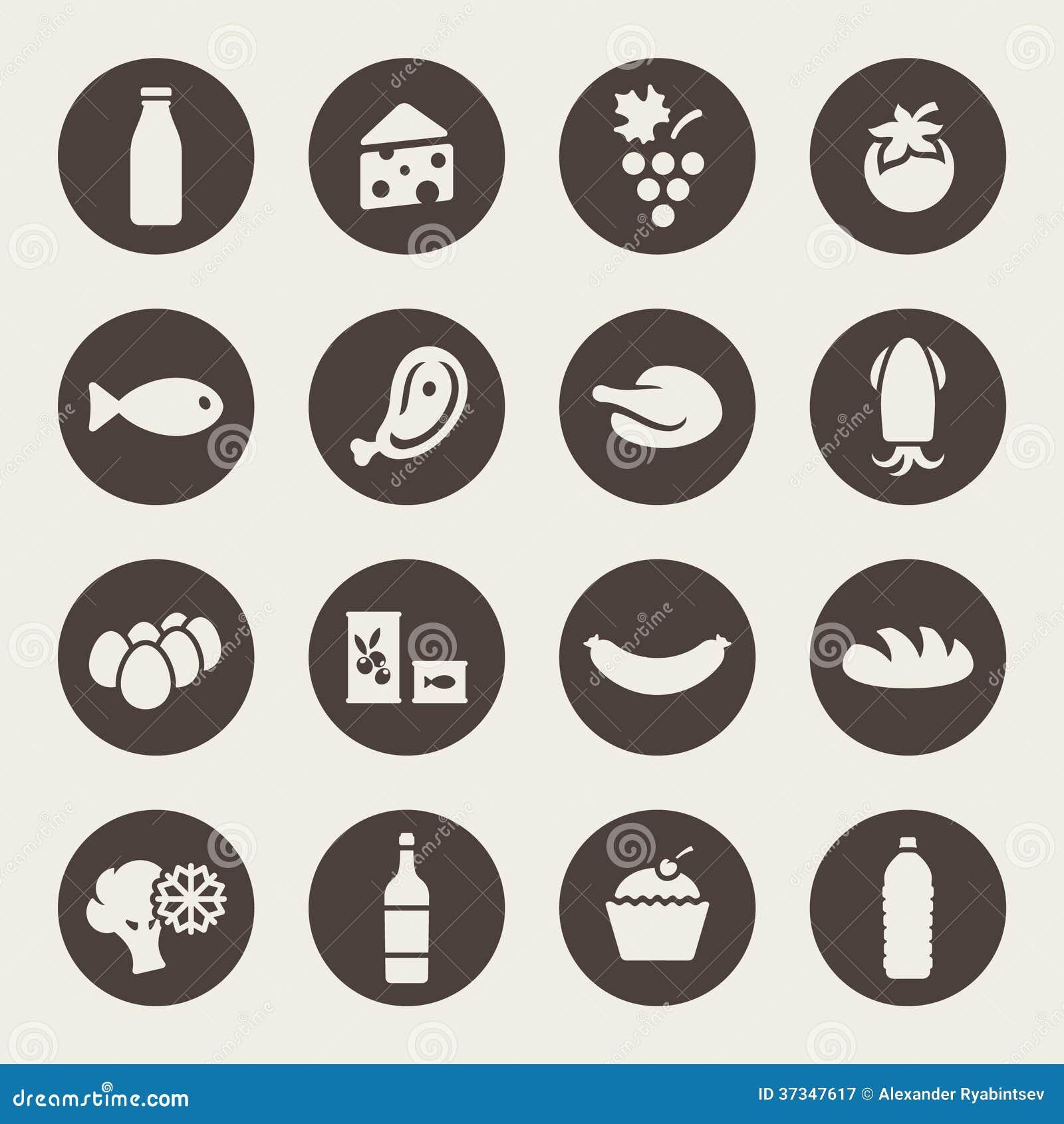 Uppsättning av symboler på en temamat