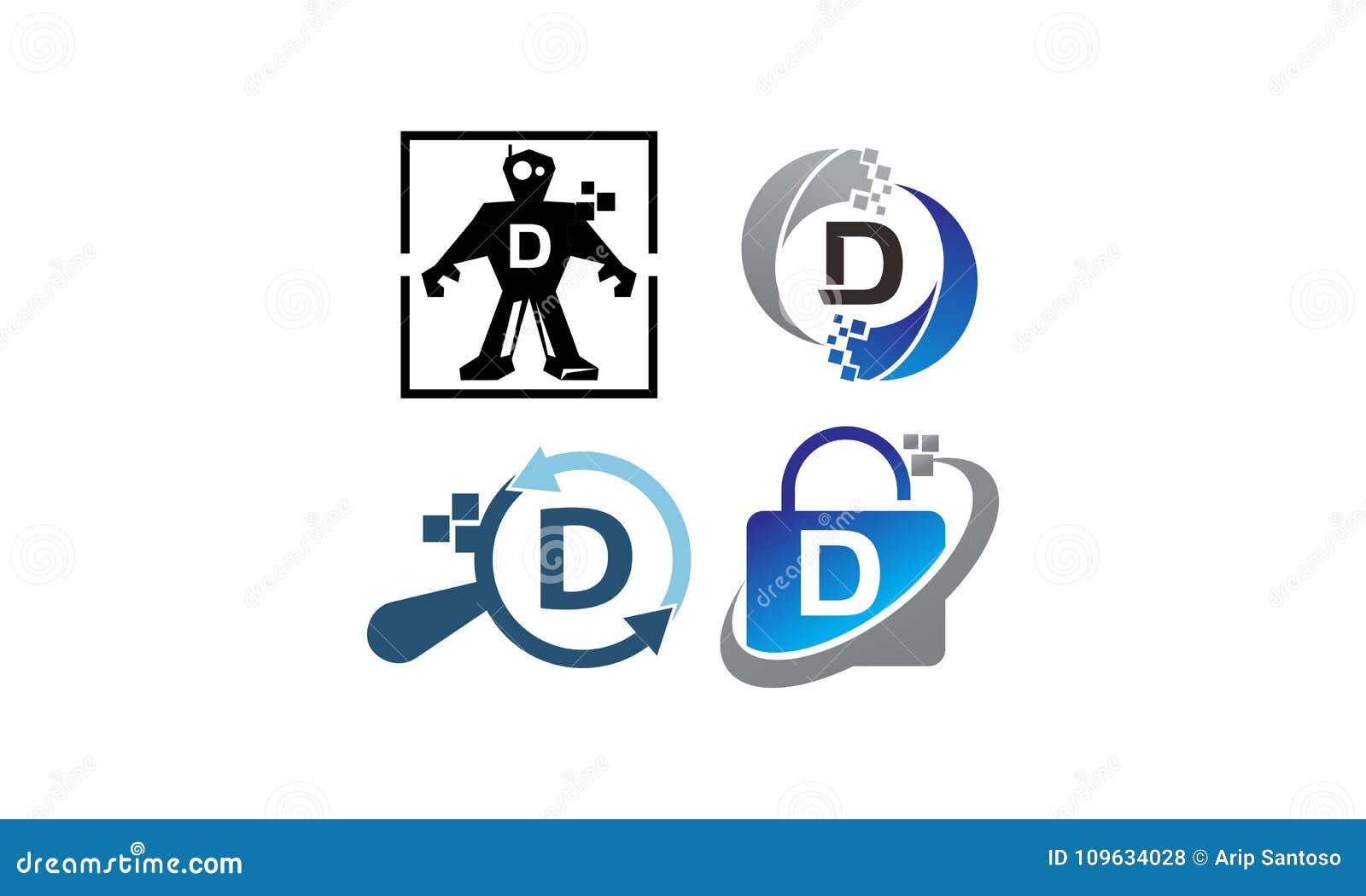 Uppsättning för mall för teknologiapplikation D