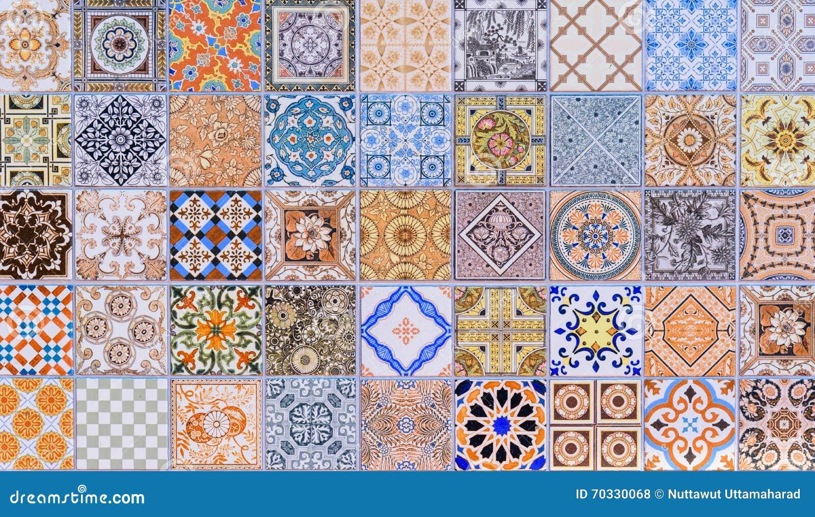 Uppsättning för modeller för keramiska tegelplattor för vägg mega
