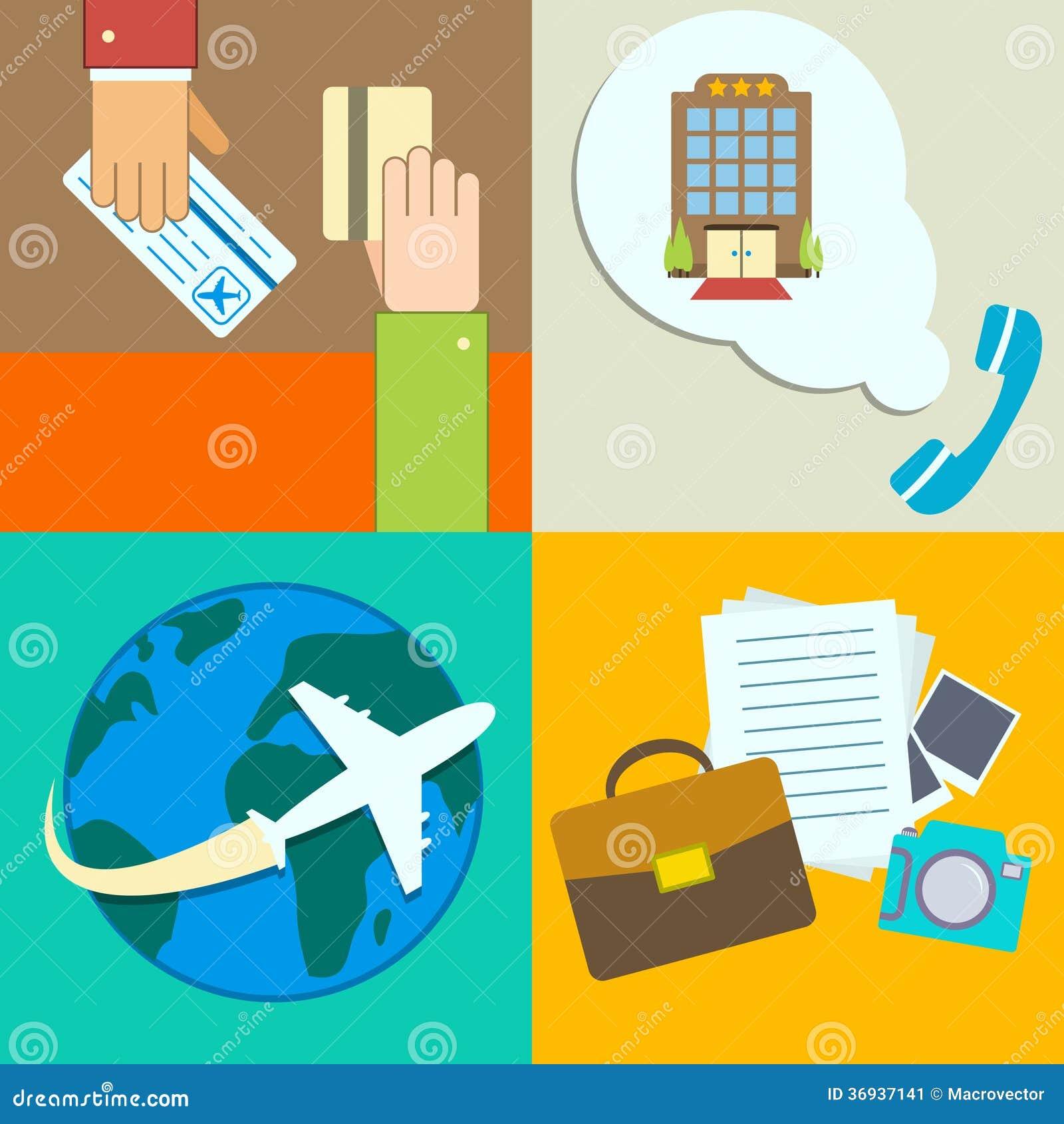 Uppsättning för symboler för infographics för affärslopp