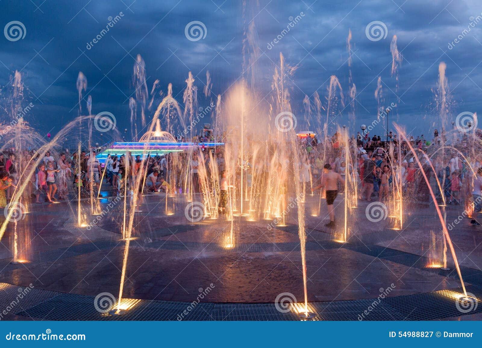 Upptäckten av springbrunnen