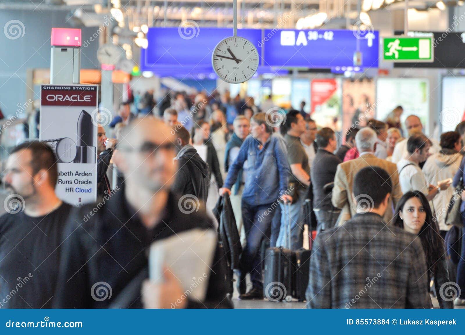 Upptagen flygplats