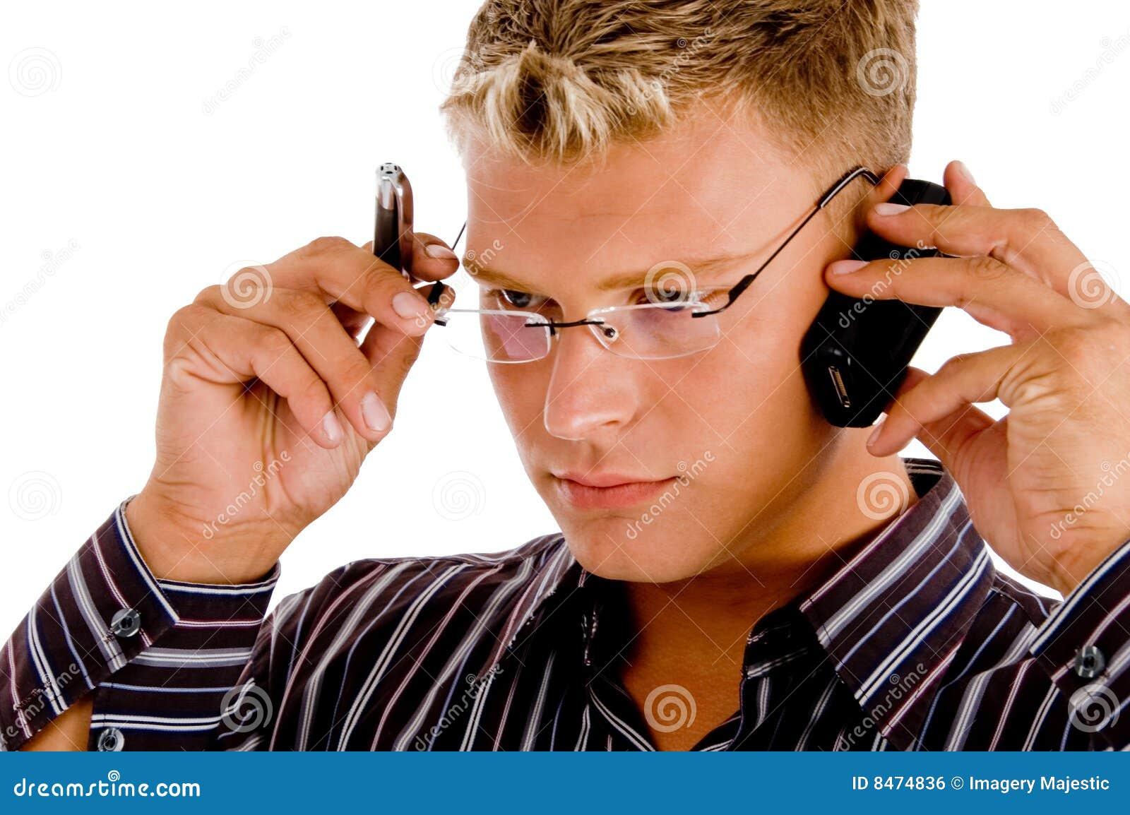 Upptagen professionell för revisor