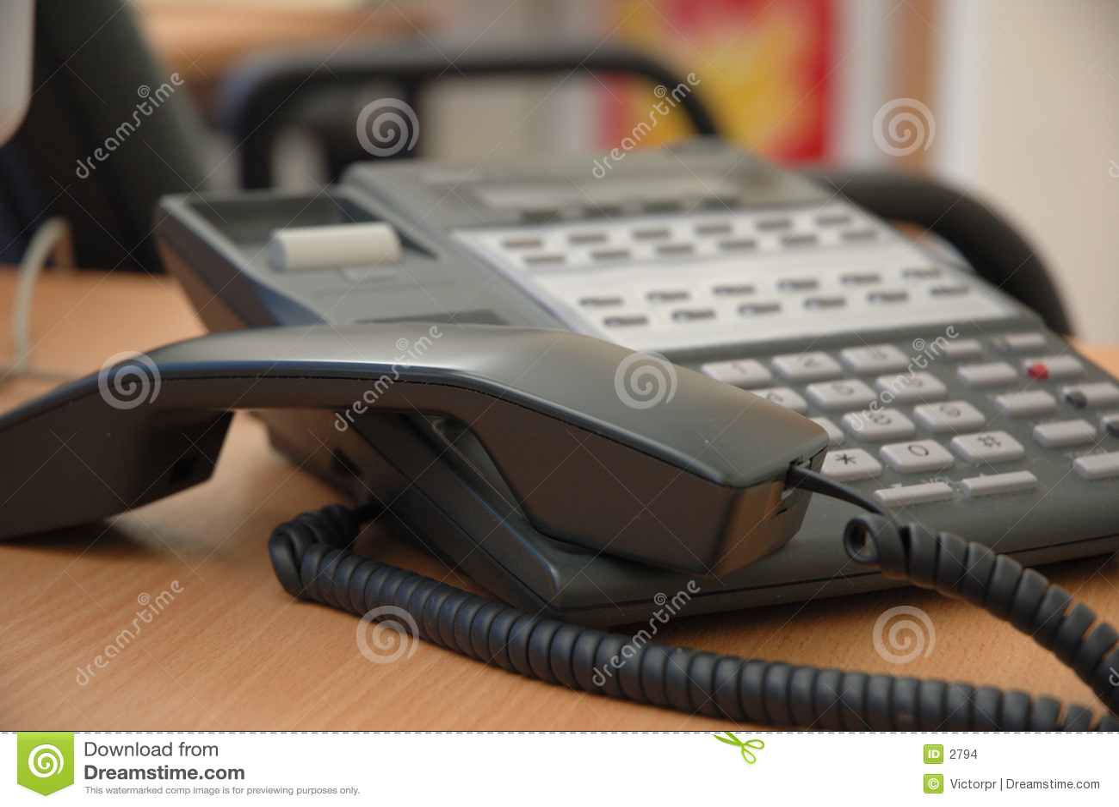 Upptagen telefon