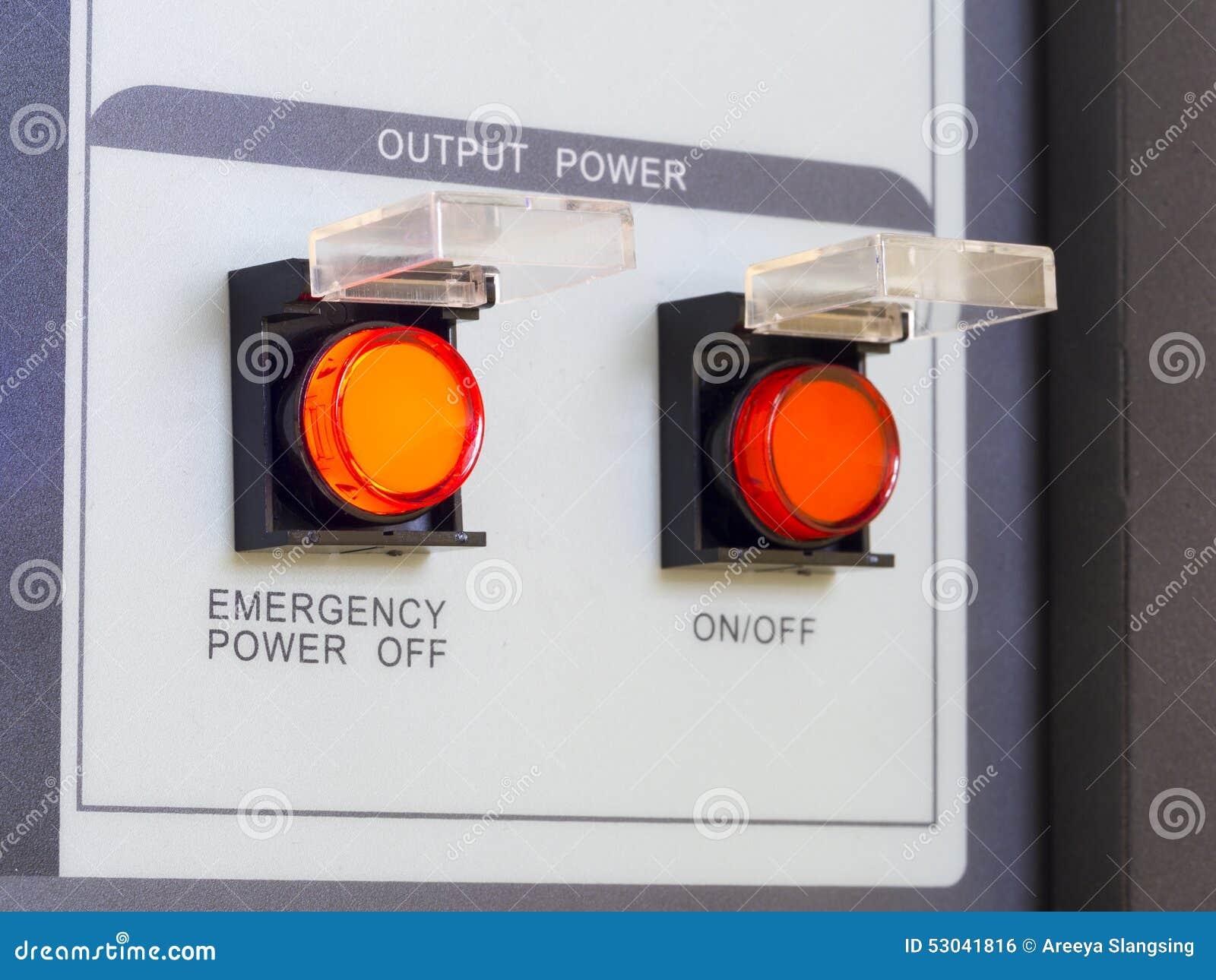 Uprawnienia nadzwyczajnego przełącznikowy z przerwami