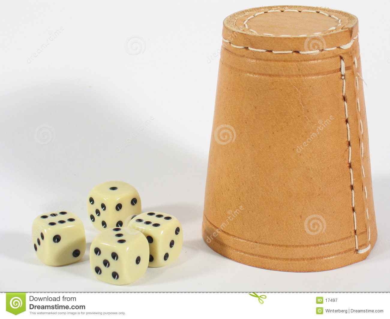 Upright Dice Box