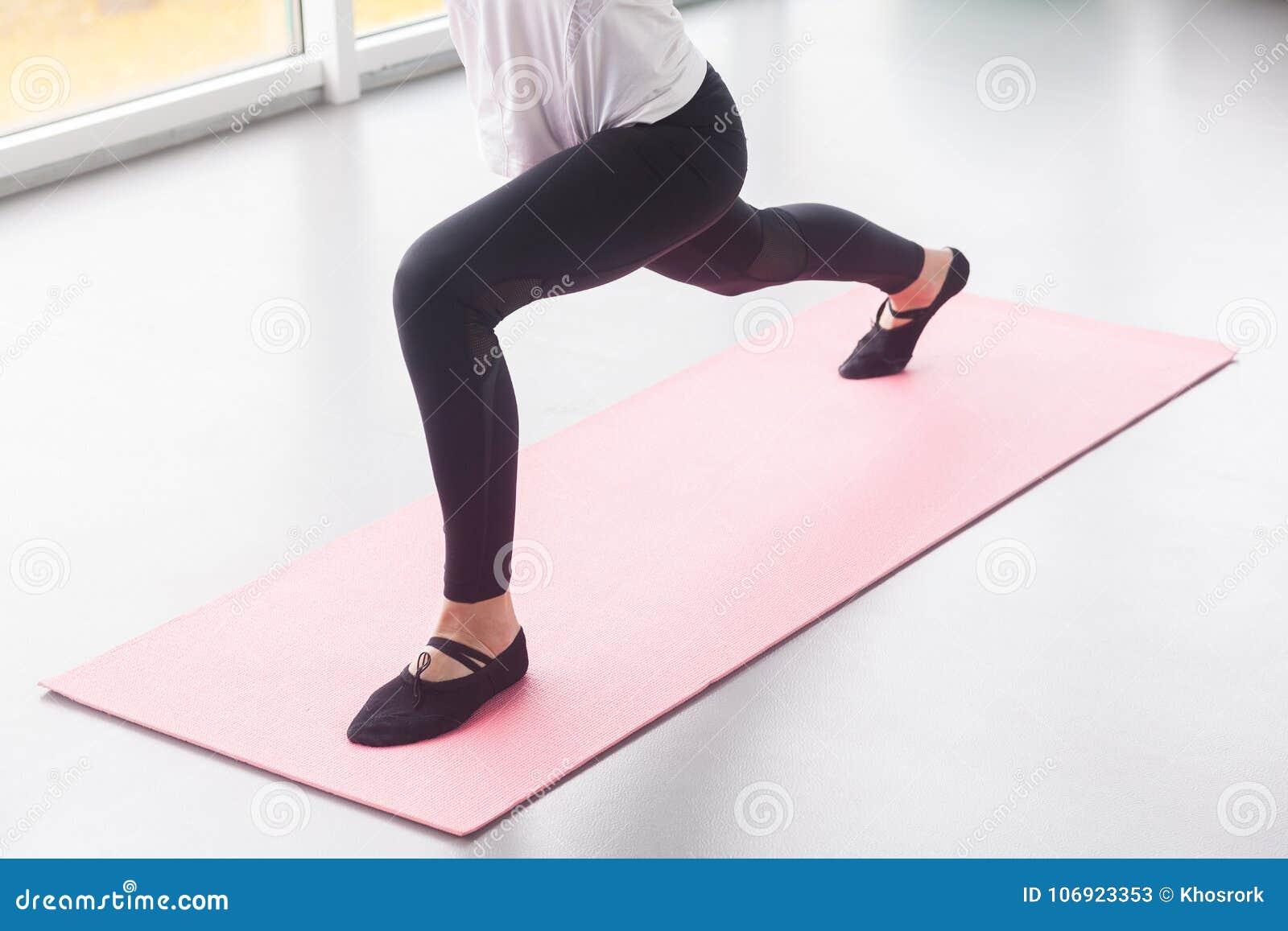 UPS, sprawność fizyczna, sporta pojęcie Zamyka w górę nóg, widok od above