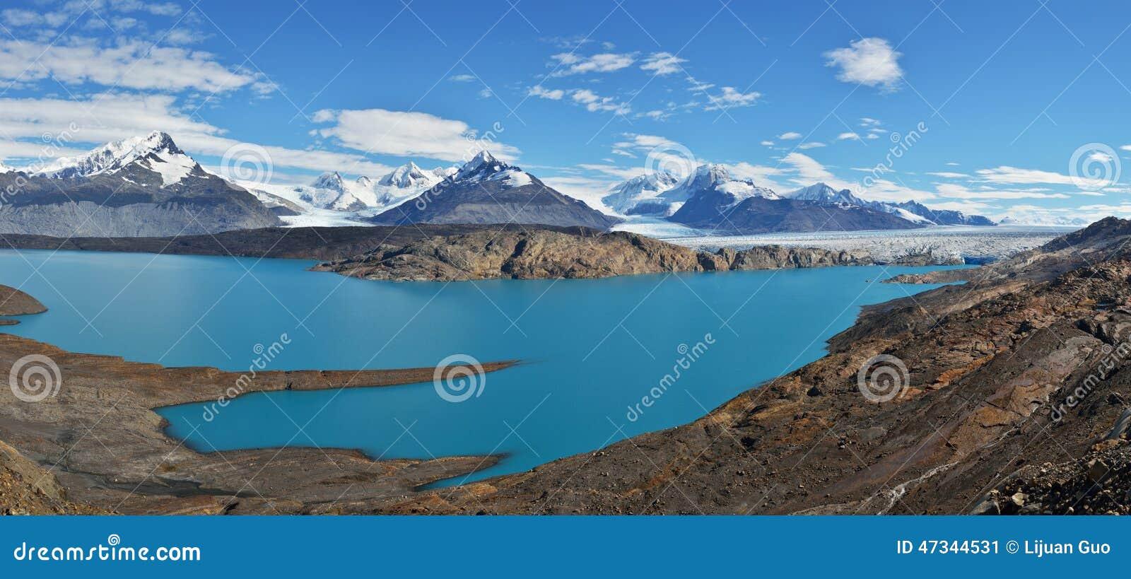 ... is a large valley glacier in Argentina's Los Glaciares National Park