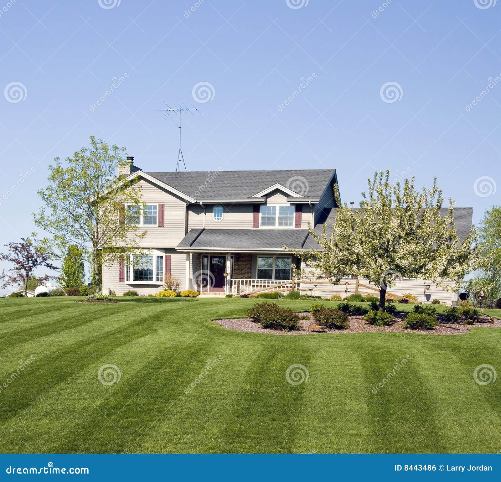 Upscale Surburban Home