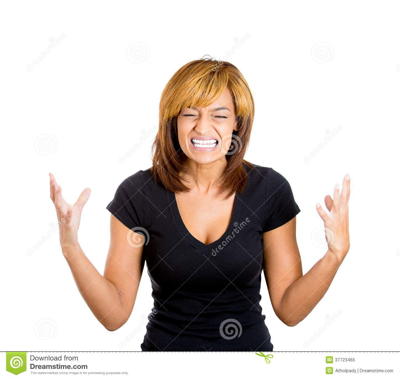 Angry Screaming Black Woman Upsed screaming woman Angry Black Woman Face