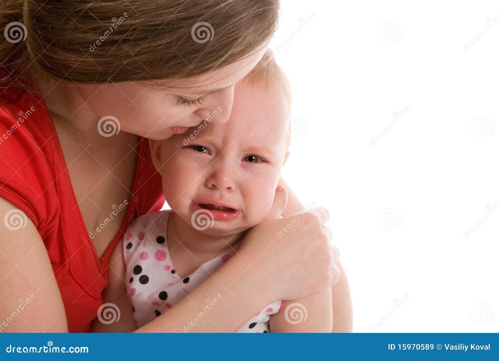 Почему ребёнок капризничает с мамой
