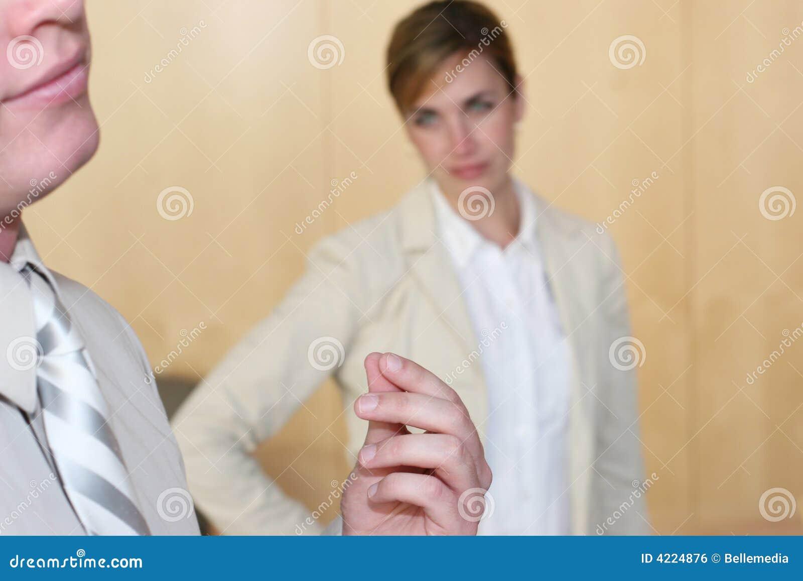 Upset della donna di affari