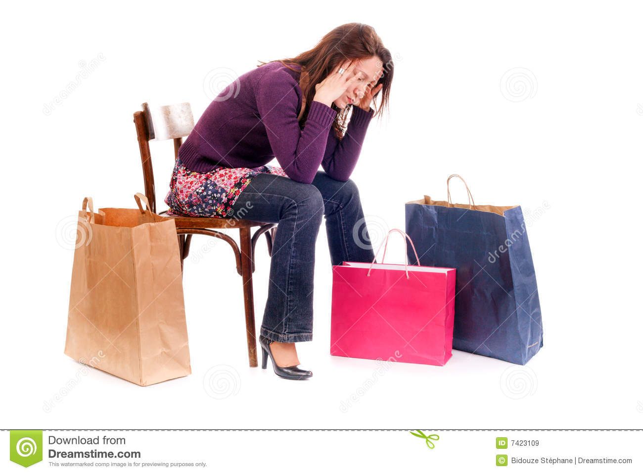 Upset shopping