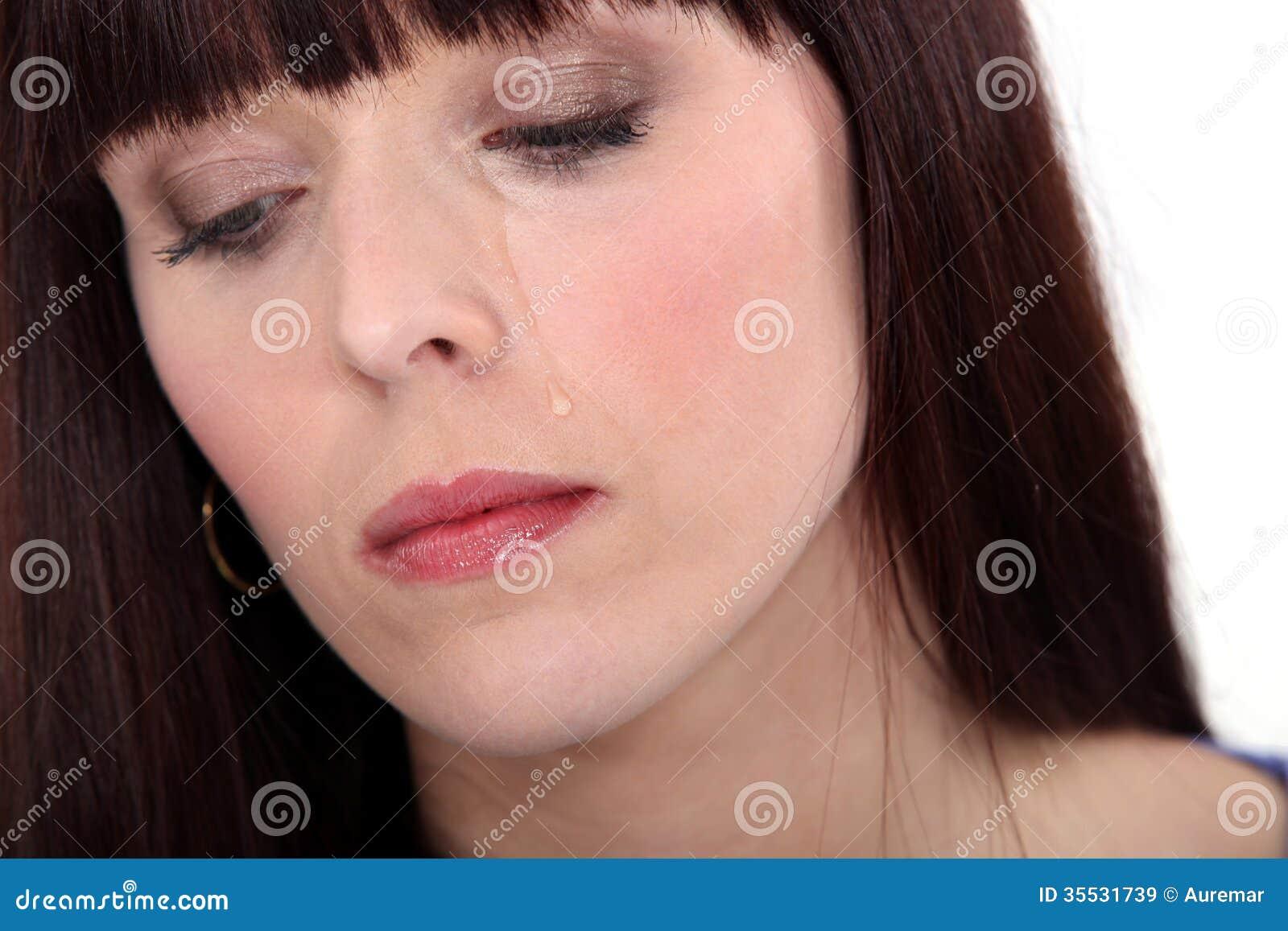 Upset Woman Crying Royalty Free Stock Images Image 35531739