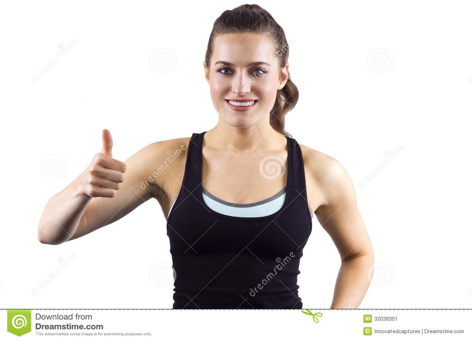 Upvote stock image. Image of health, female, athlete ...