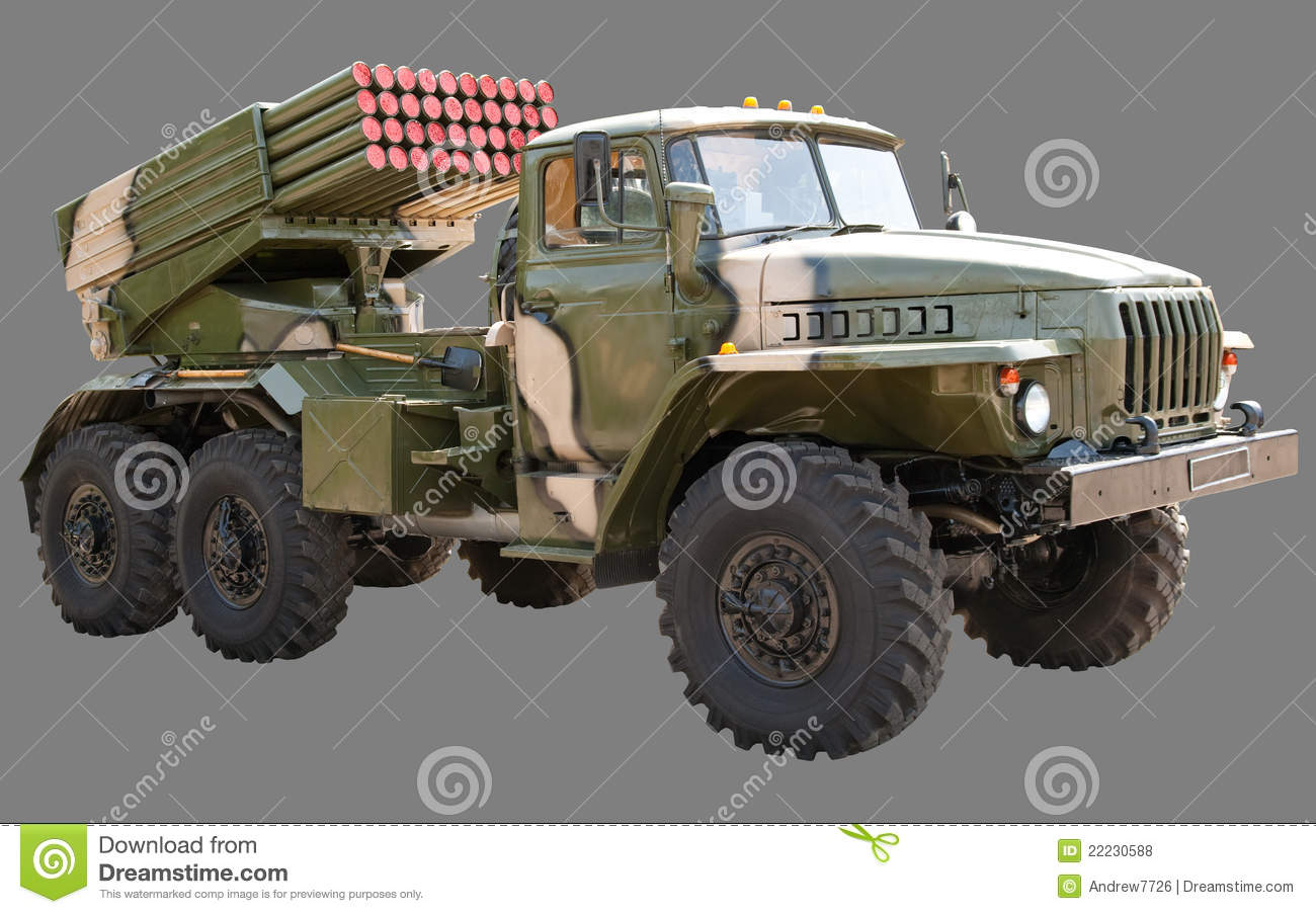 ural bm 21 grad stock photo image of military weapon 22230588. Black Bedroom Furniture Sets. Home Design Ideas