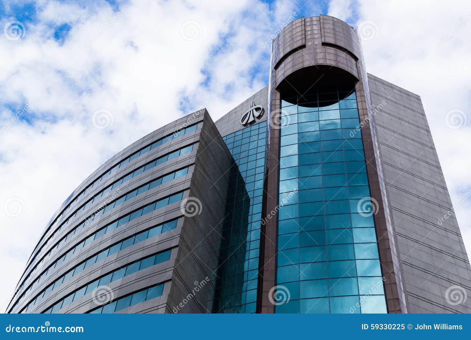Ural sib russian bank exterior editorial image image for Modern bank building design