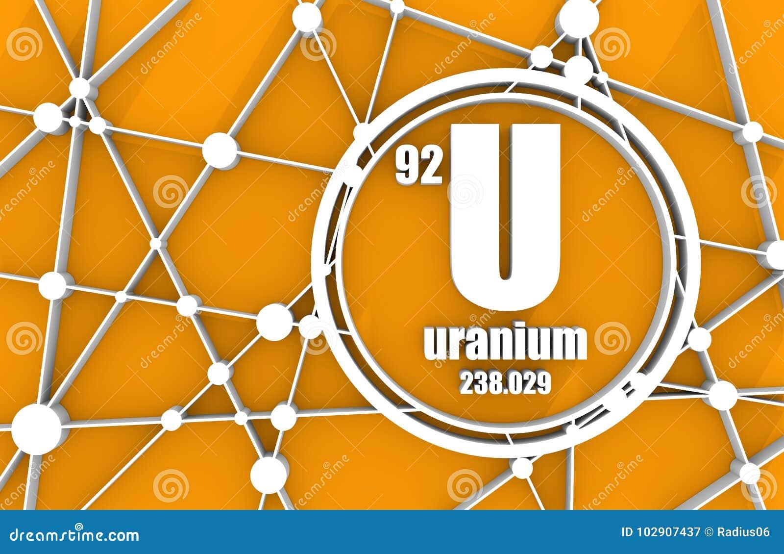 Uranium chemical element stock illustration illustration of fuel uranium chemical element sign with atomic number and atomic weight chemical element of periodic table molecule and communication background urtaz Choice Image