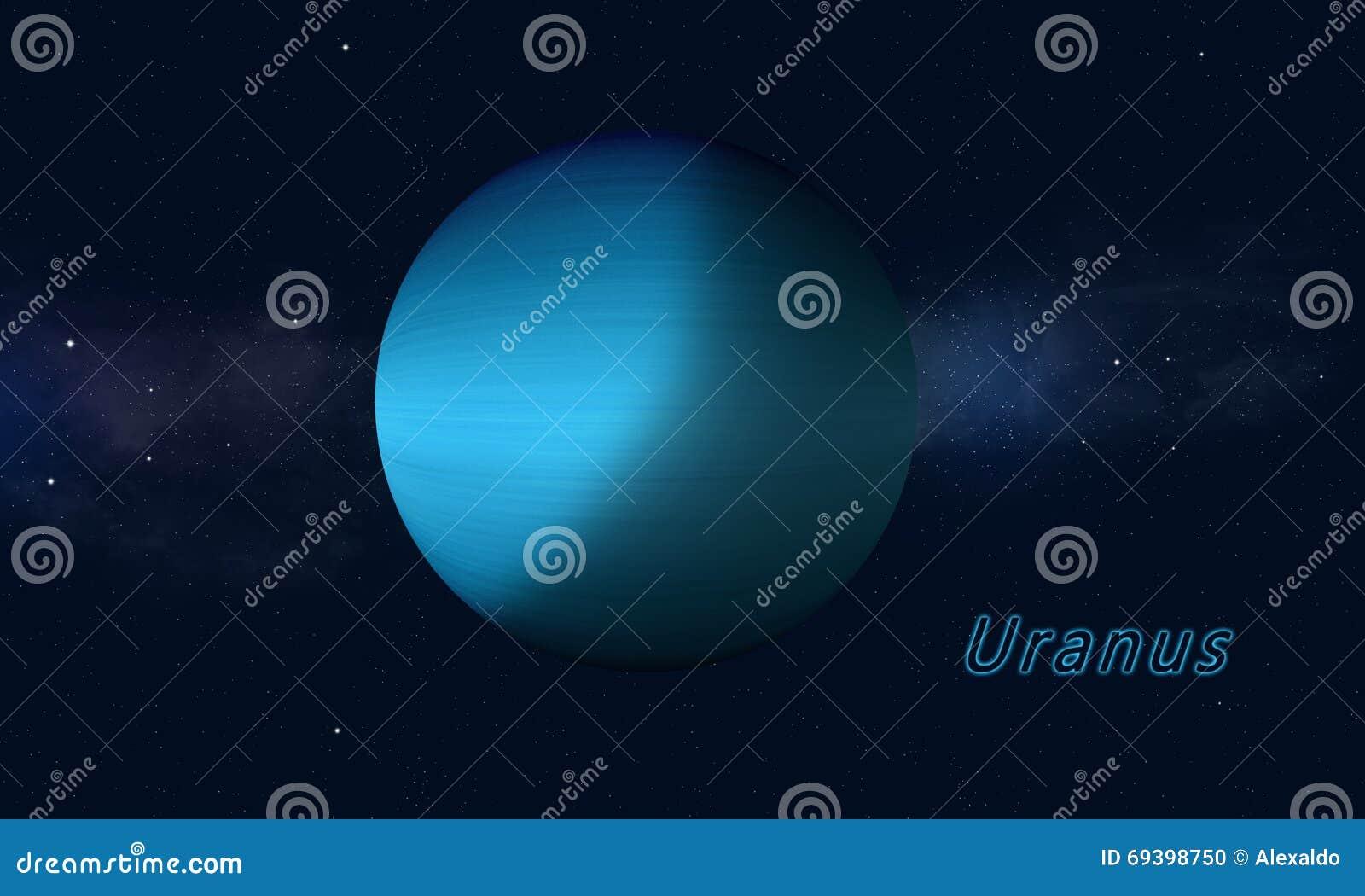 Urano do gigante de gás