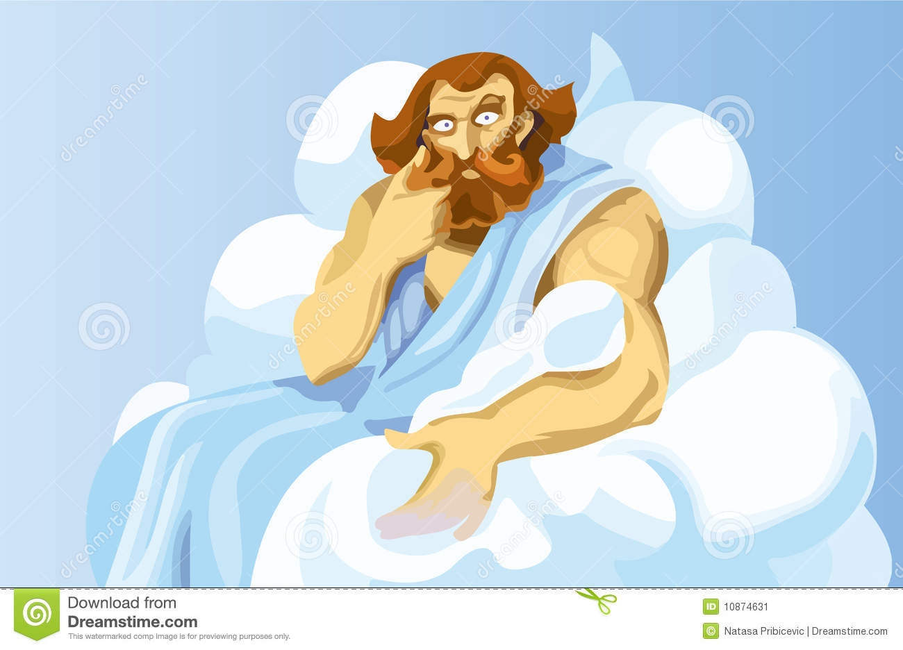Stock Image Uranus God Image10874631 on 7926