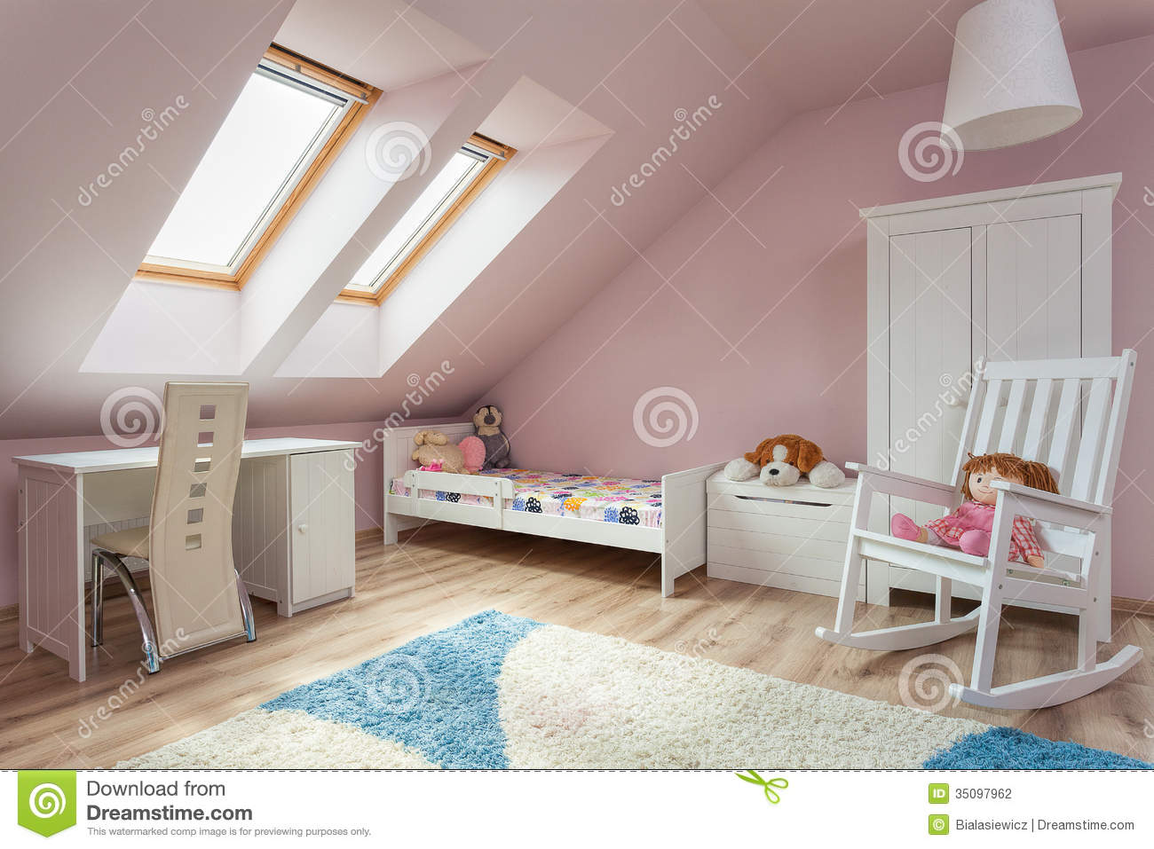 urban apartment cute room stock photo image 35097962