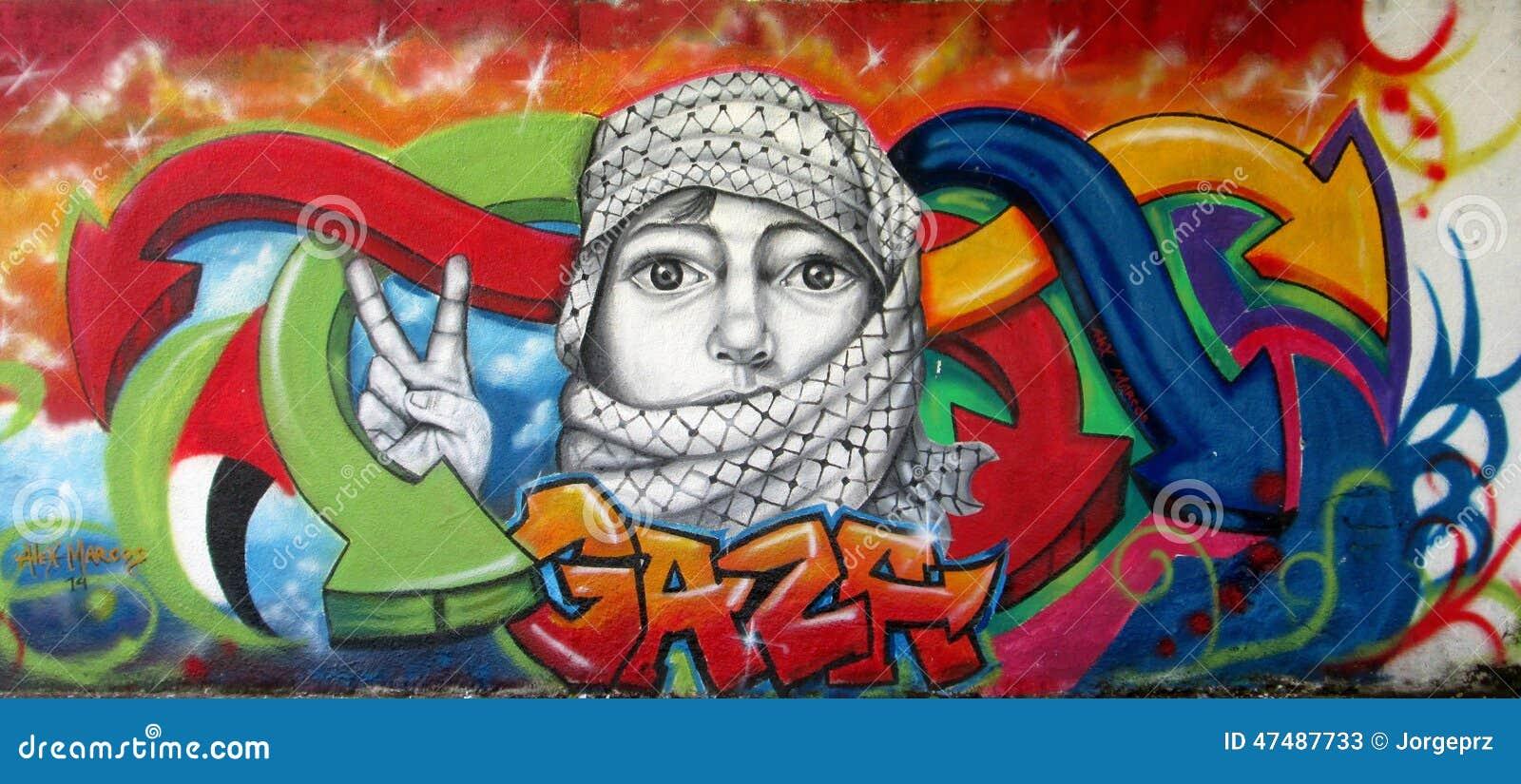 Grafitti wall painting - Urban Art Letter V Stock Photos