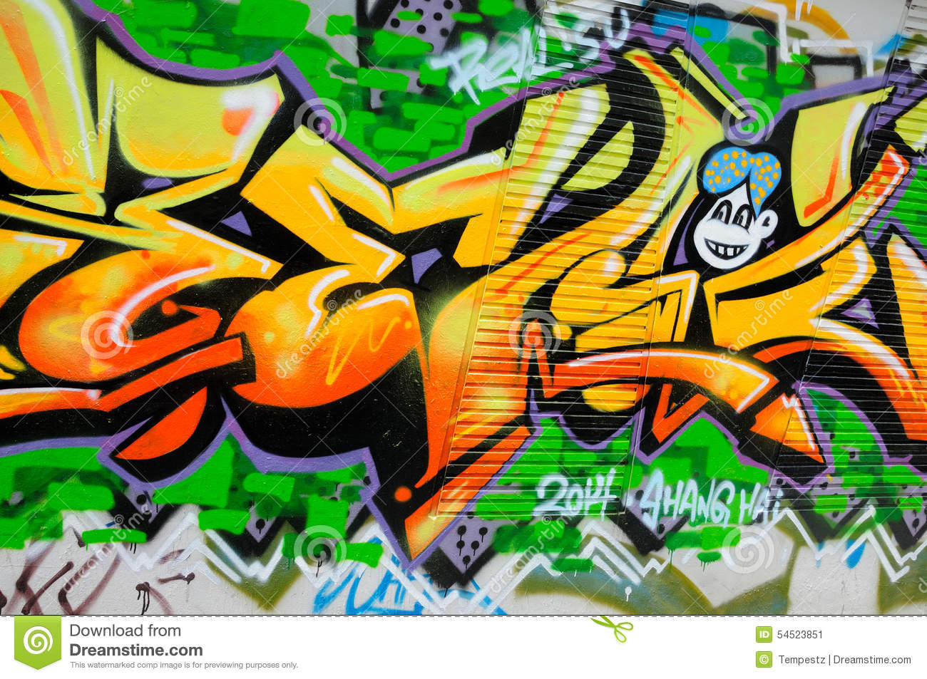 Urban Art In Shanghai China Editorial Photo - Image of district ...