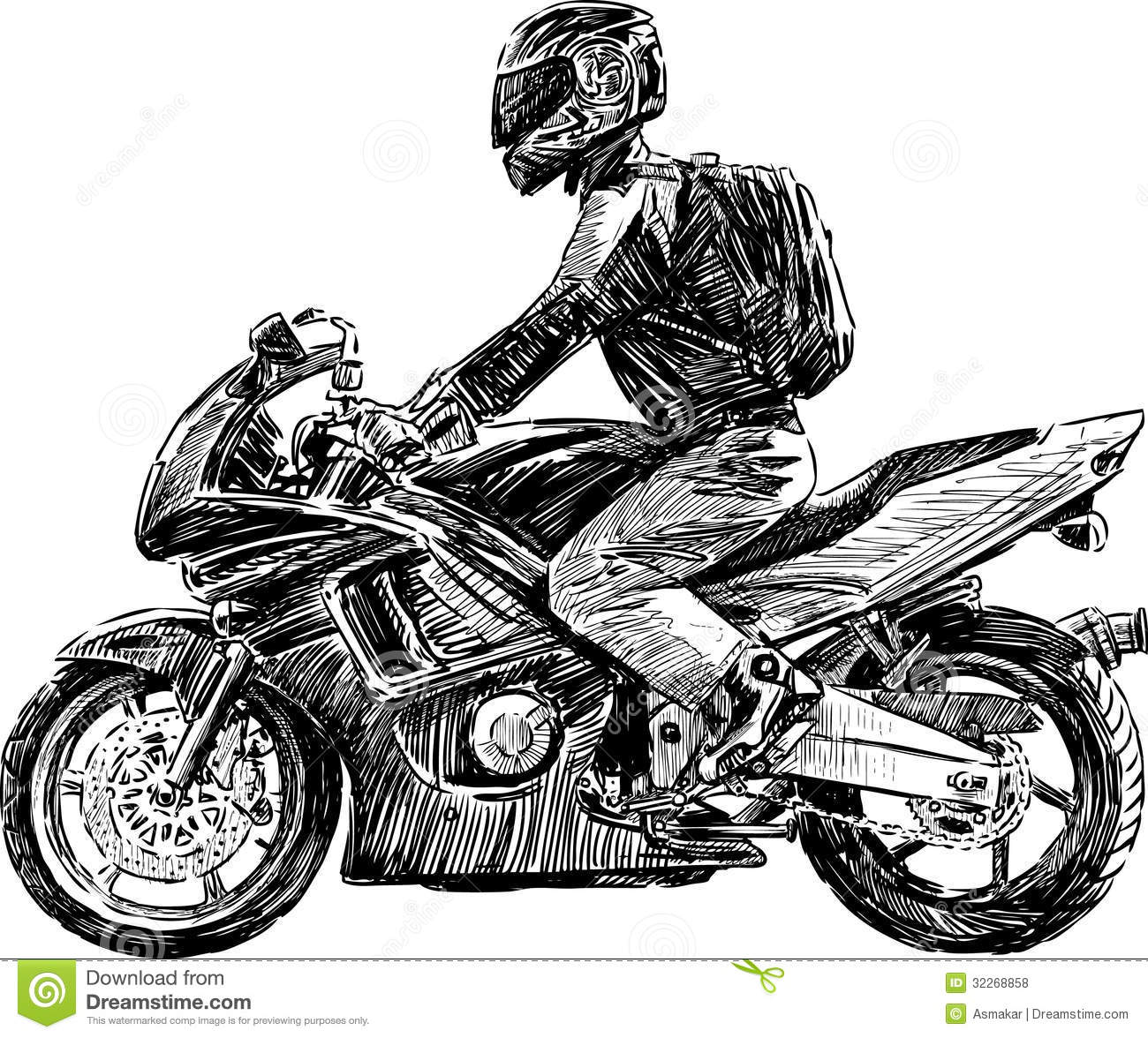 Urban Biker Royalty Free Stock Photos - Image: 32268858