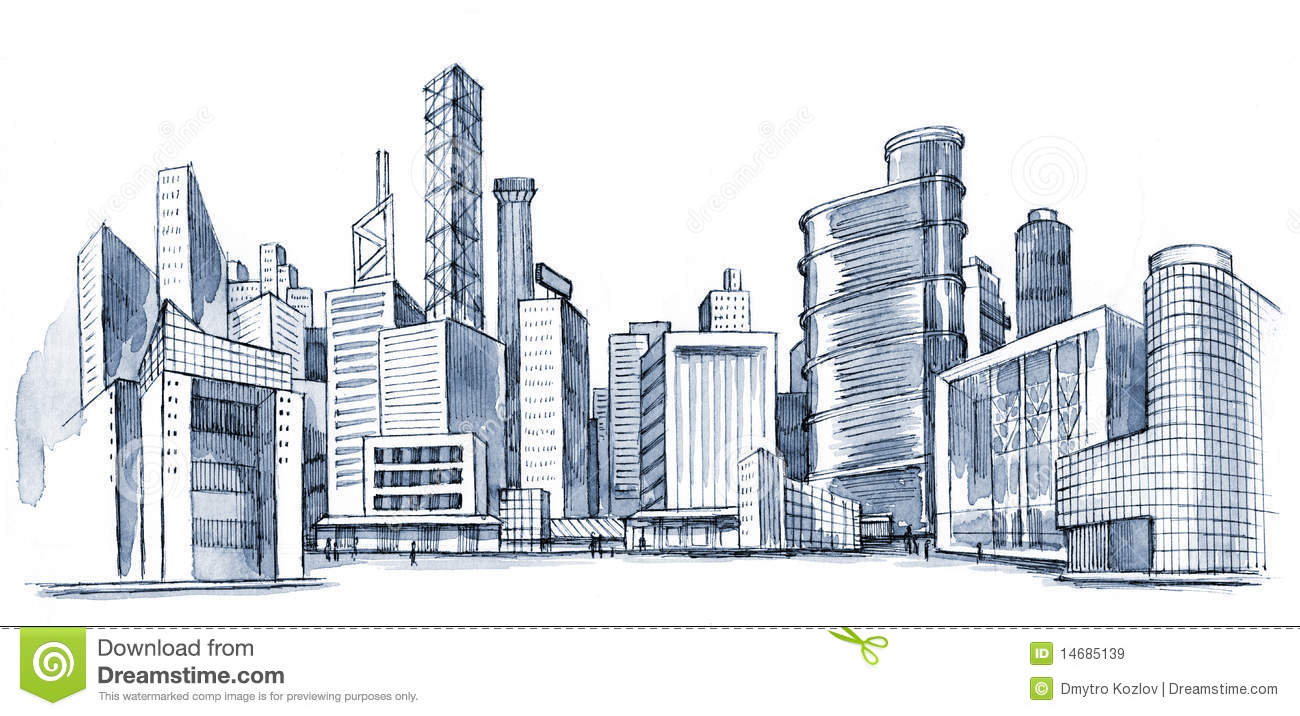 Urban City Royalty Free Stock Images - Image: 14685139