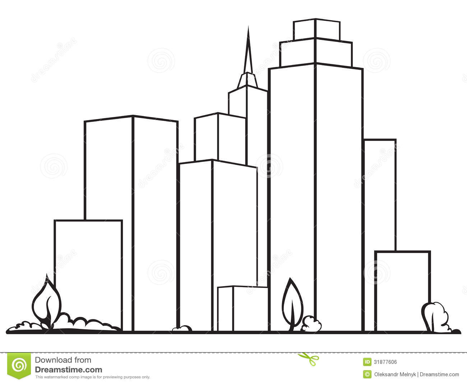Urban Cityscape Royalty Free Stock Image Image 31877606