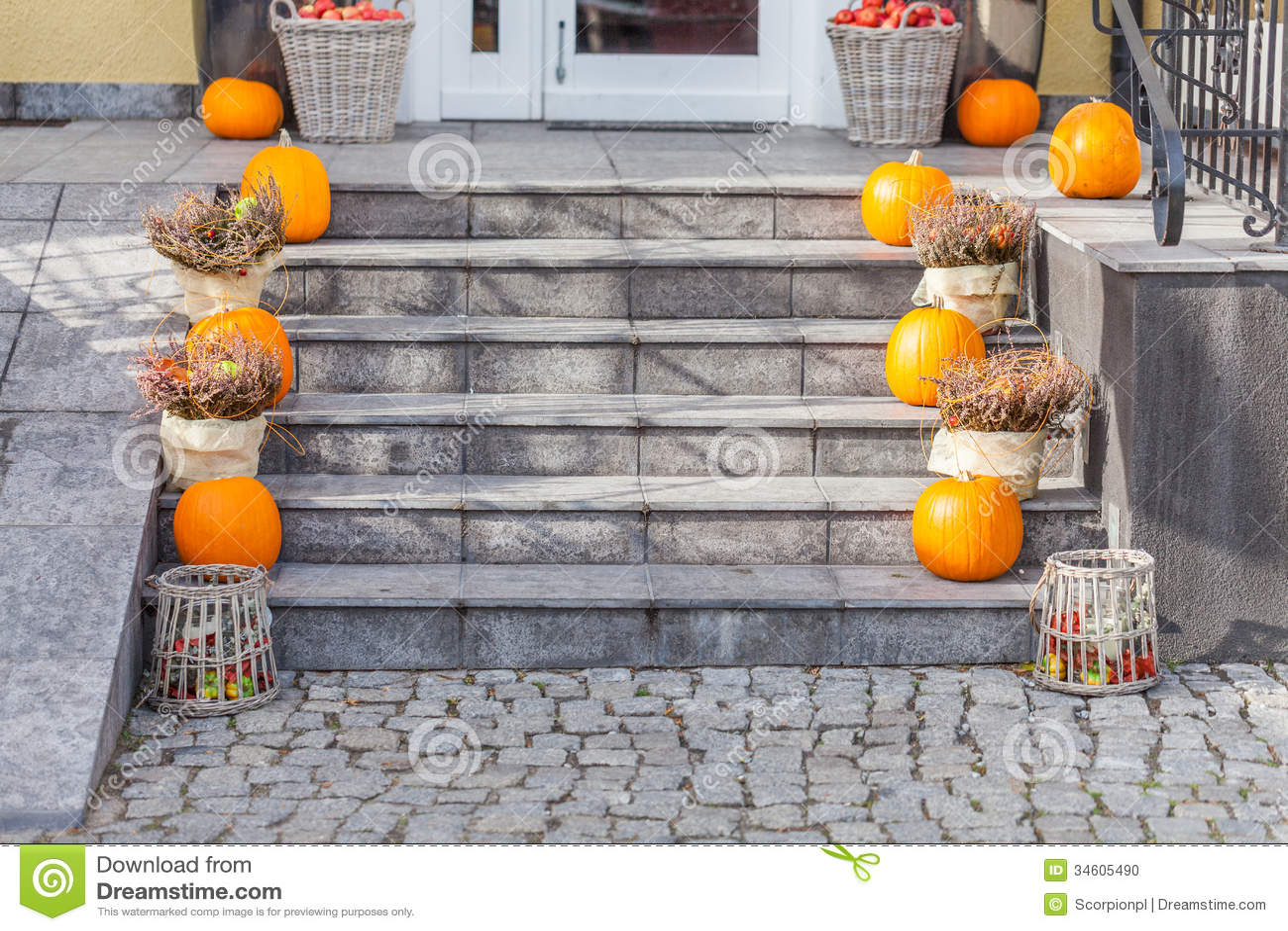 urban decor for halloween stock photo - Urban Decor