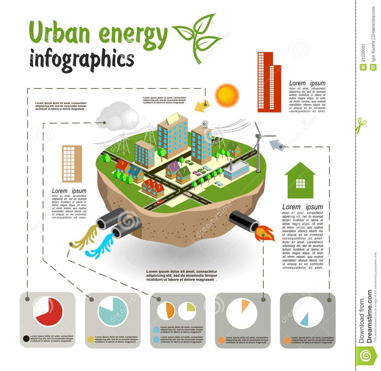 Electric Circuit Concept Map Everything About Wiring Diagram Electriccircuitprojectideas Science Project Urban Energy Infographics Template Stock Photo Image Kit Nuclear Reactor