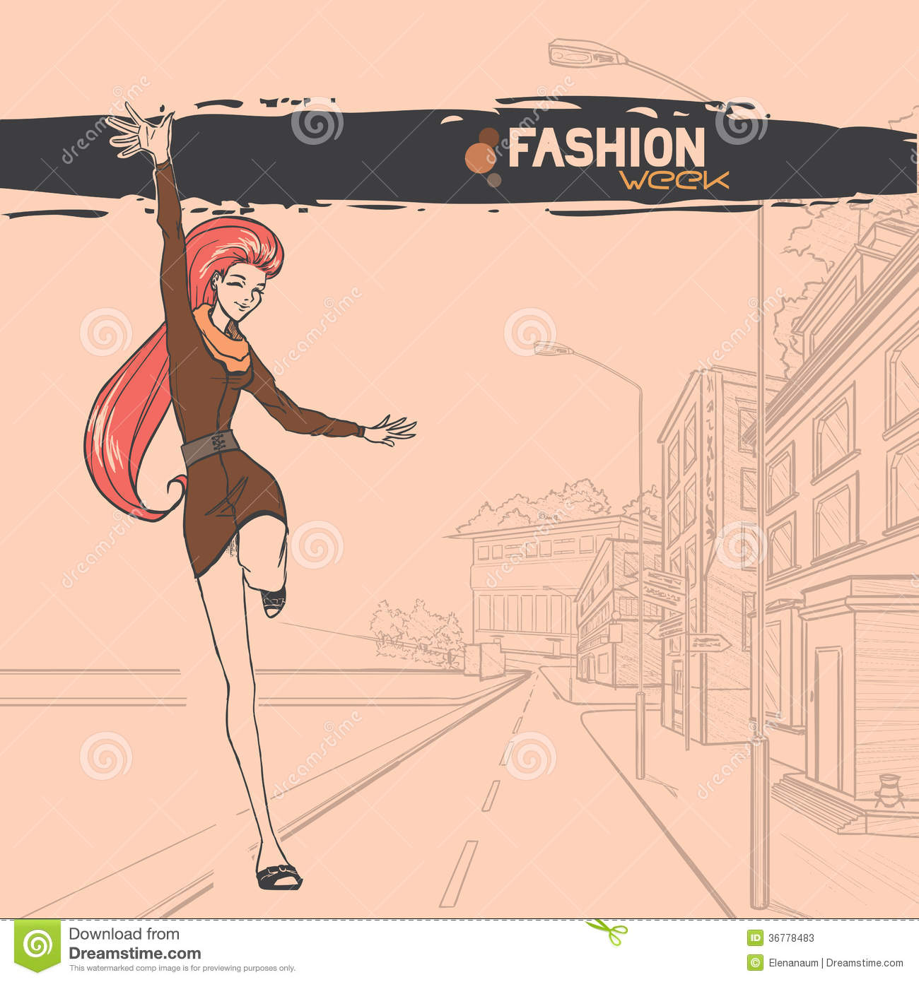 Urban Fashion City And People Stock Photos Image 36778483
