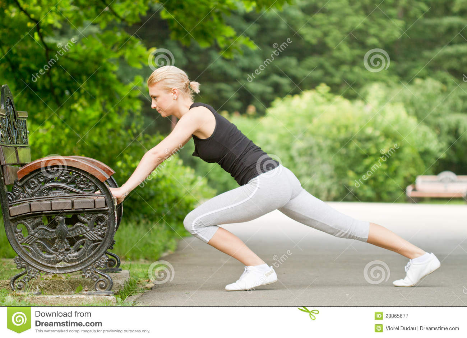 Urban fitness - push ups