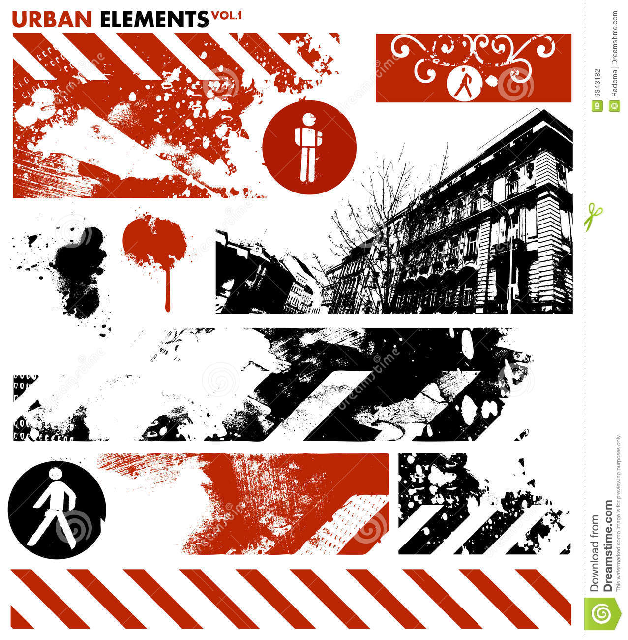 Urban graphic elements 1