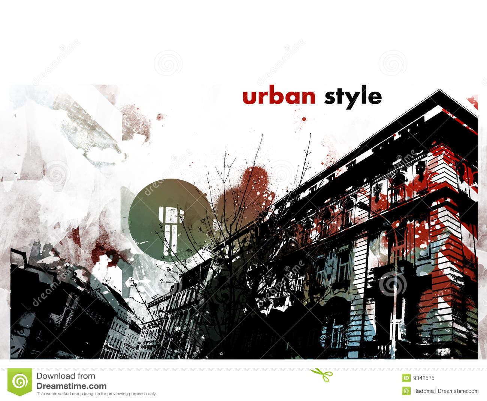 Urban Graphic Decoration Interieur