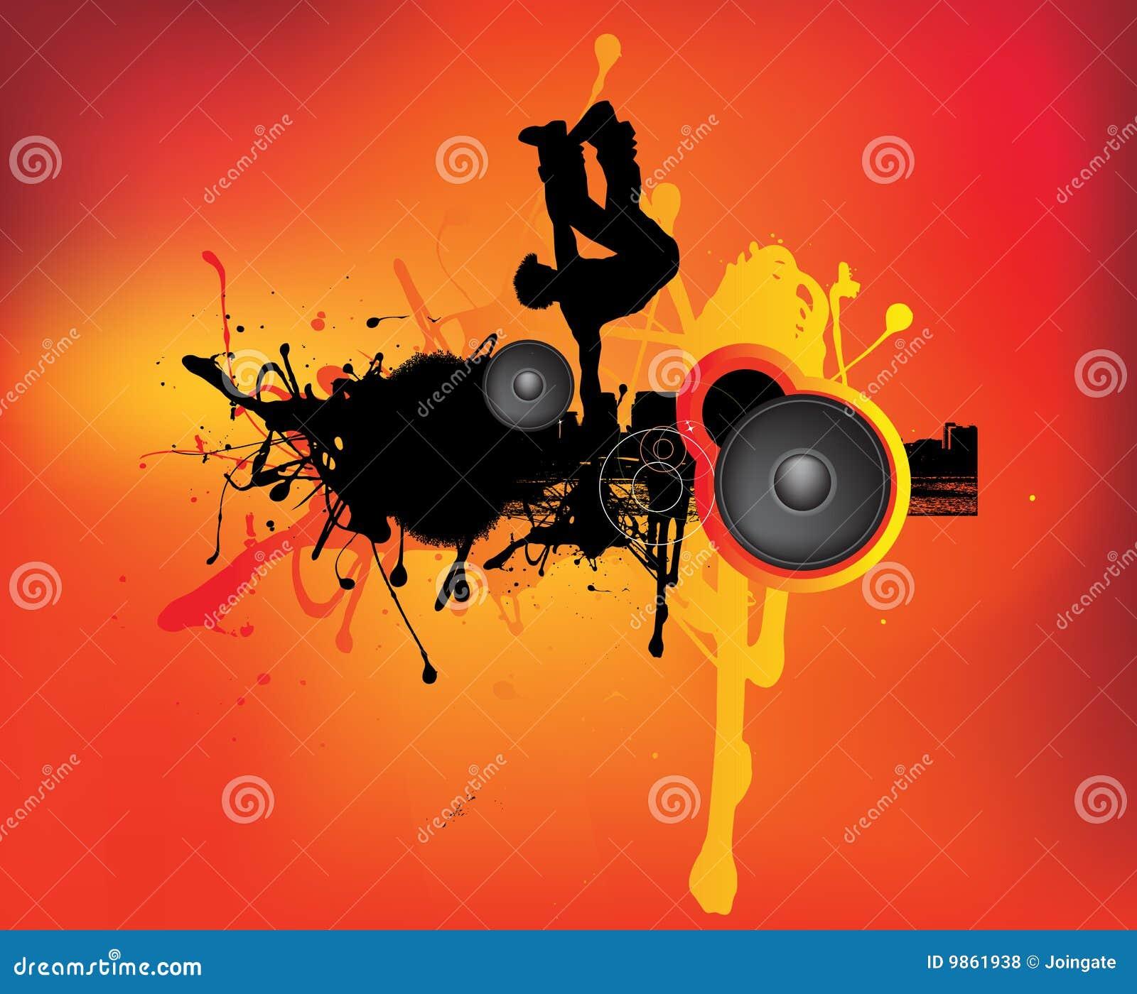 Urban grunge dancer